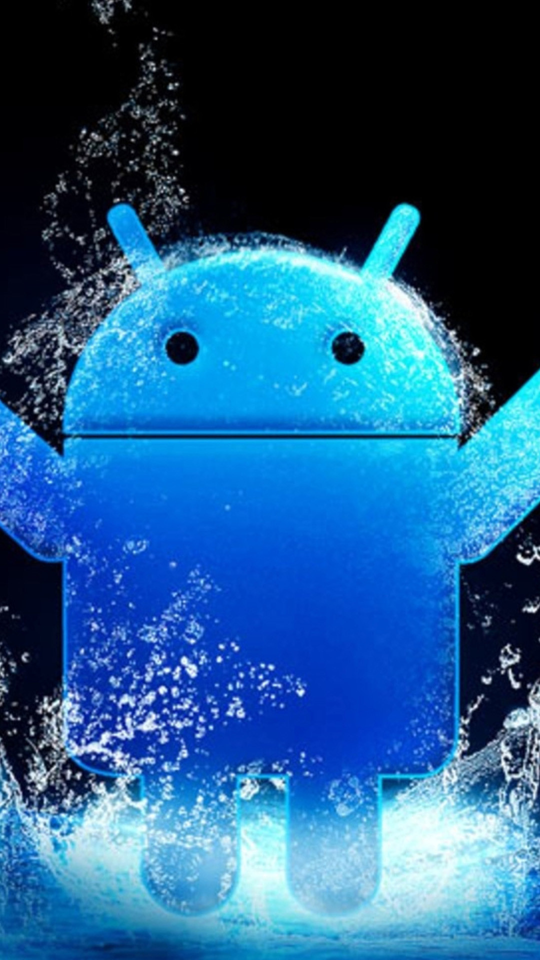 1080x1920 Blue Android LOGO 04 Galaxy S5 Wallpapers HD