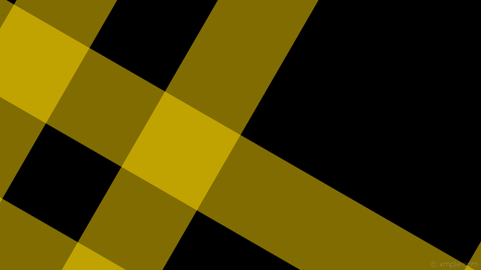 1920x1080 wallpaper striped dual black yellow gingham gold #000000 #ffd700 240° 348px