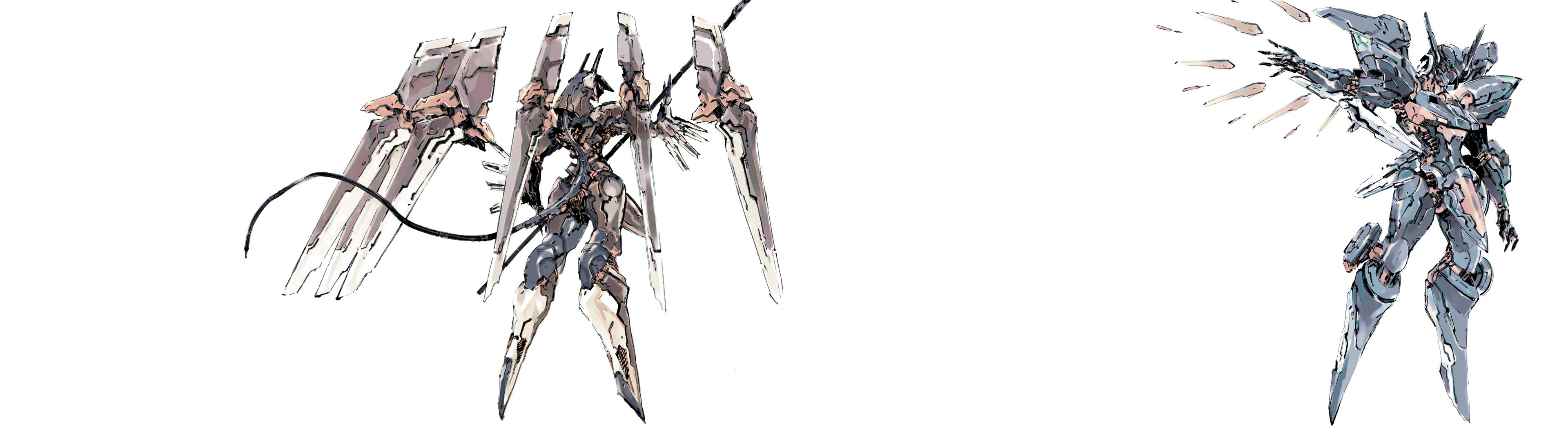 3840x1080 Zone of the Enders dual monitor wallpaper [] ...