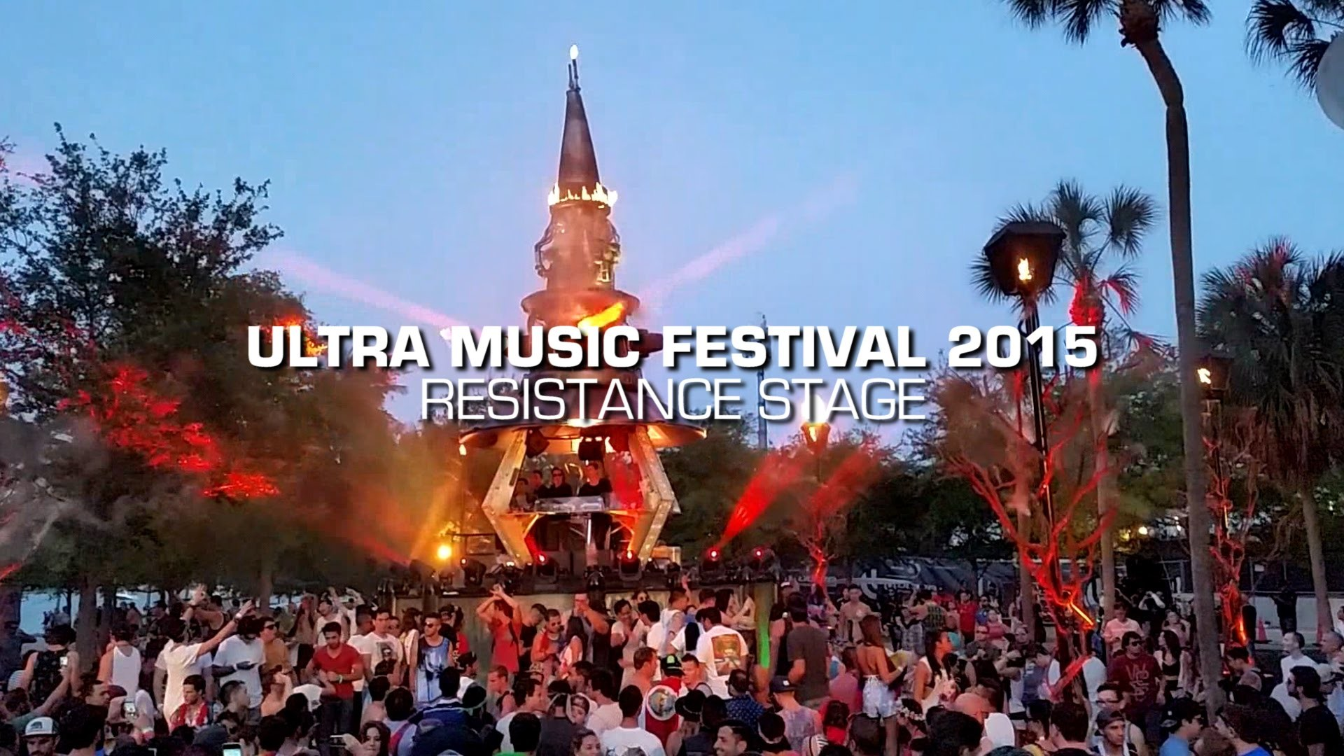 1920x1080 2015 Ultra Music Festival - Resistance Stage by Arcadia Spectacular -  YouTube