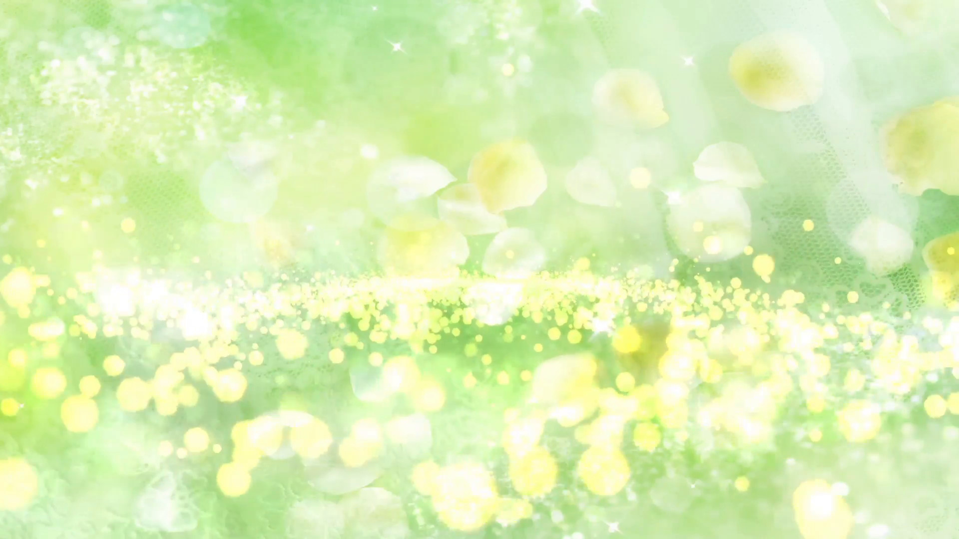 1920x1080 Particle Light Flower Background 01