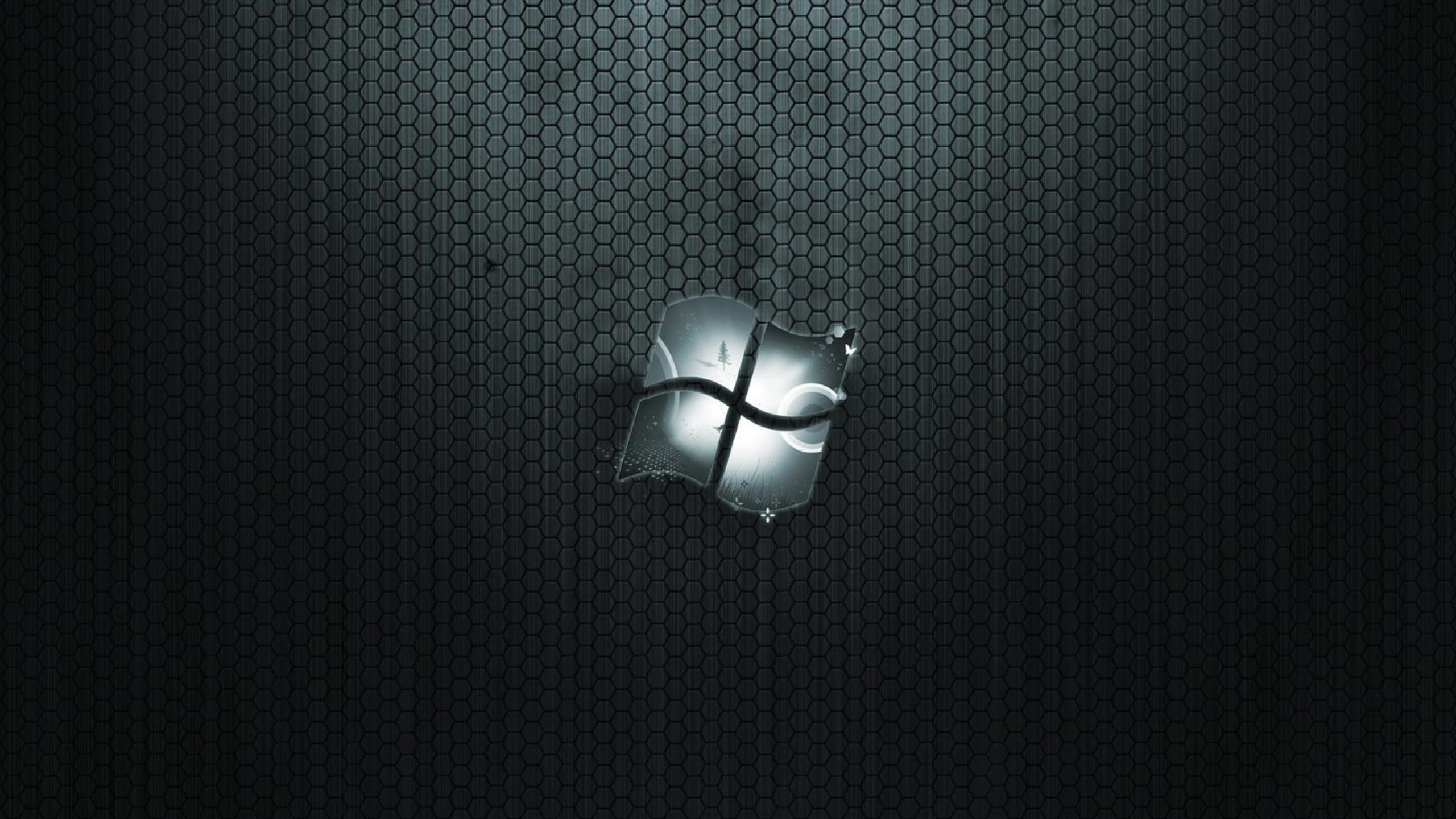 2560x1440 Black Windows Wtyjallpapers HD Wallpaper