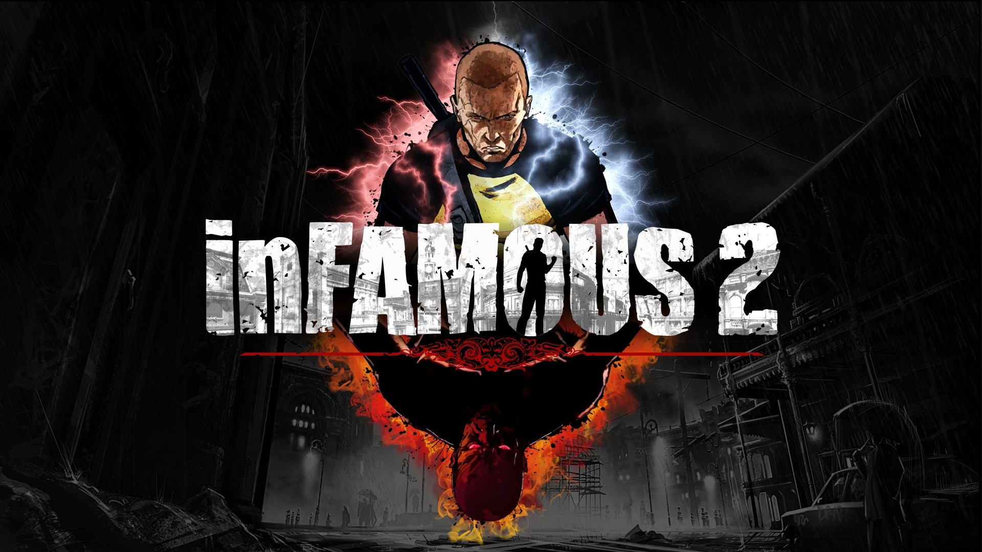 1920x1080 Video Game - inFAMOUS Wallpaper
