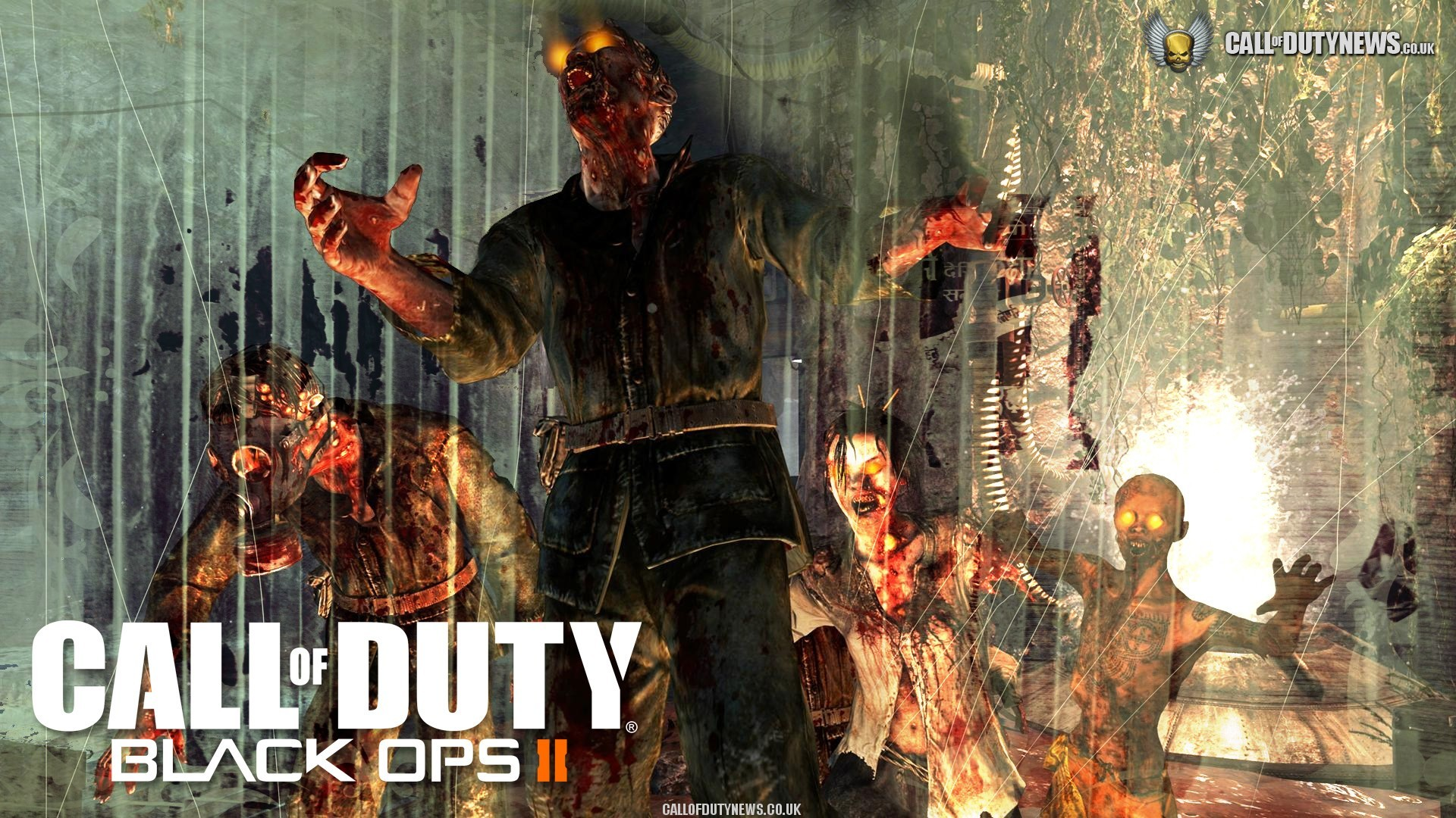 1920x1080 Call Of Duty Black Ops 2 Zombies Wallpaper