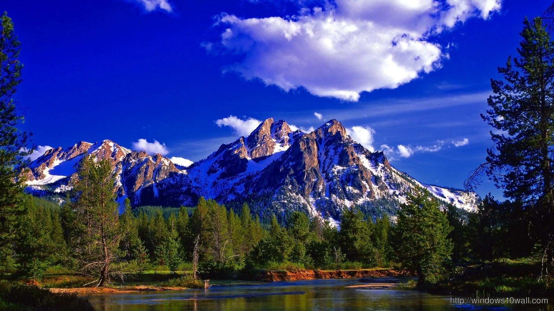 Windows 10 Wallpaper Mountains 74 Images