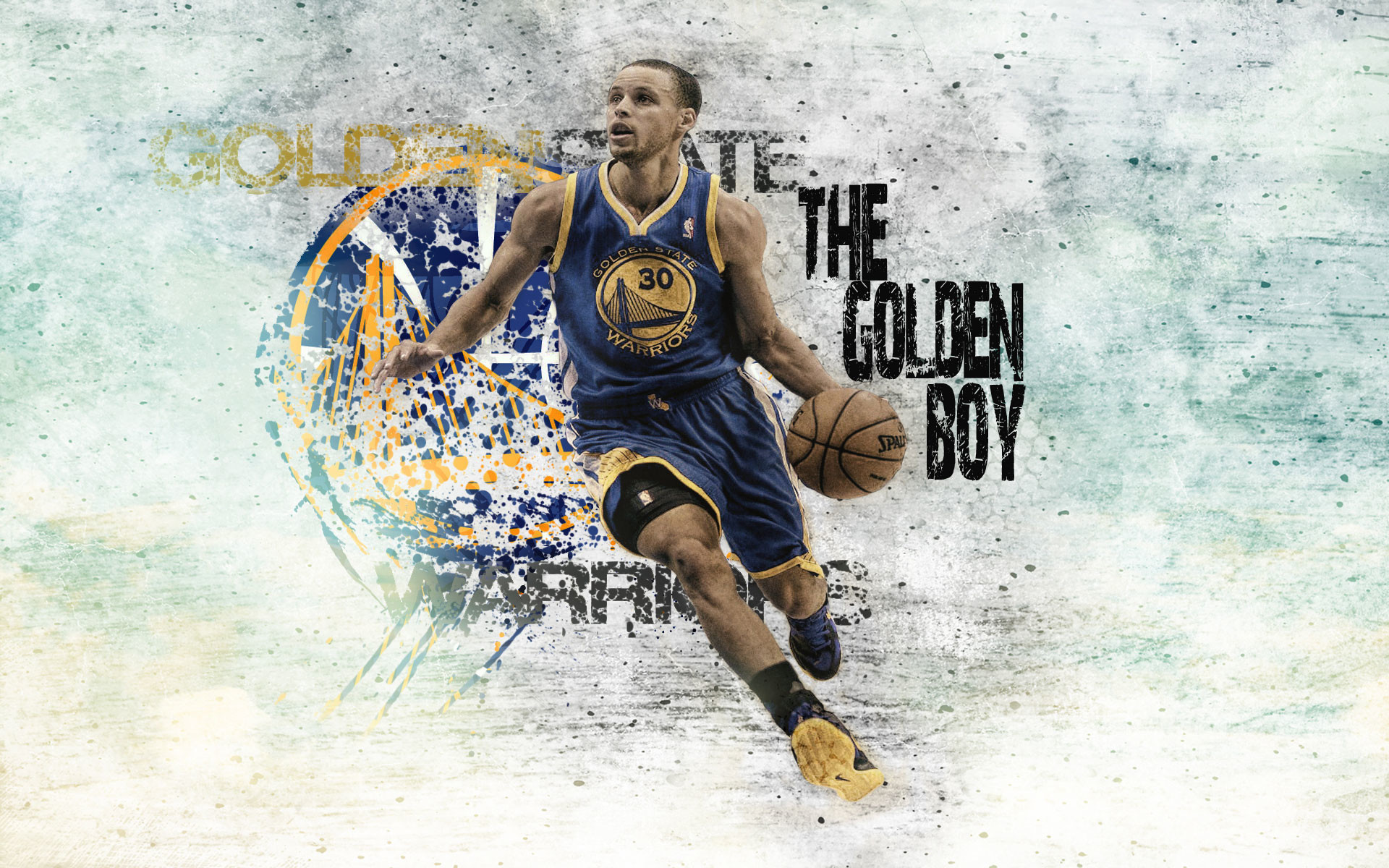 1920x1200 fractal stephen curry splash hd wallpaper for desktop background .