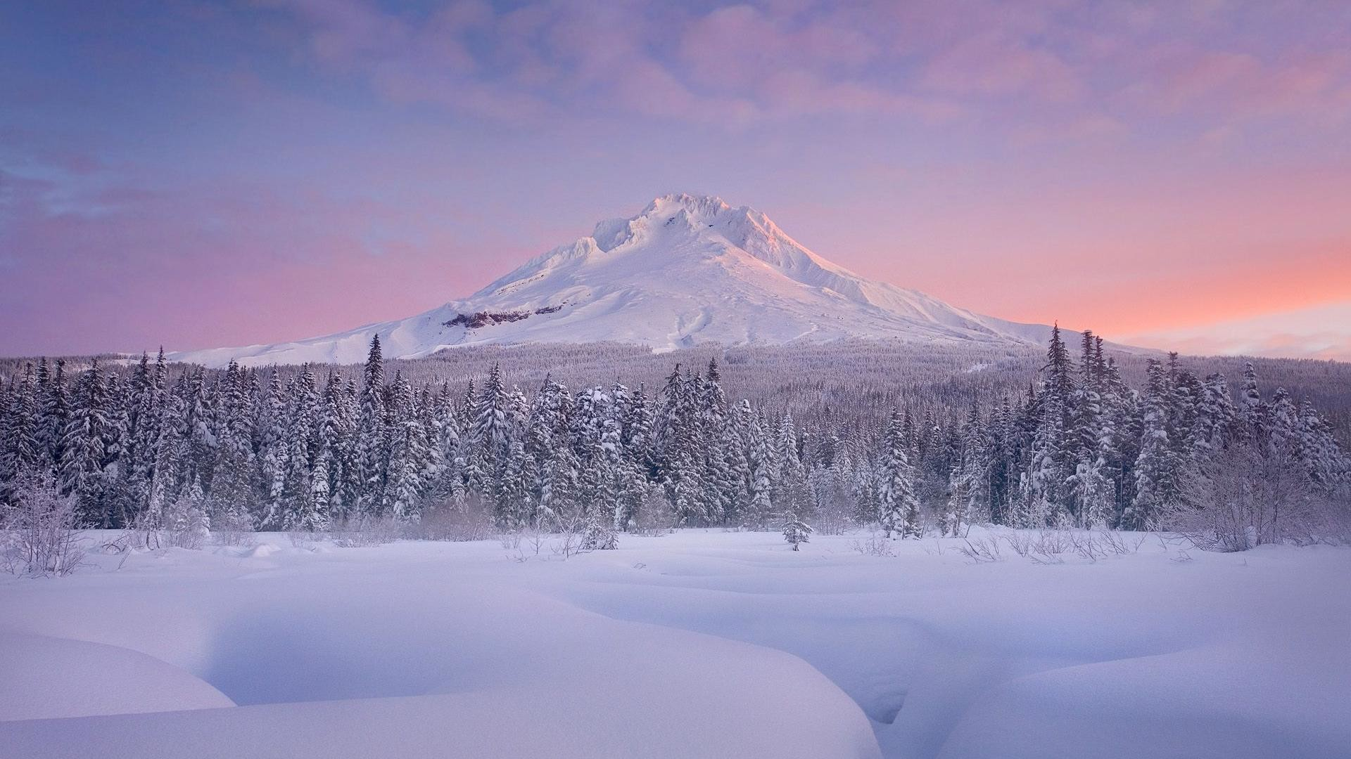 1920x1080 1440x9001280x800 · Charming winter scenery and mountain snow  background