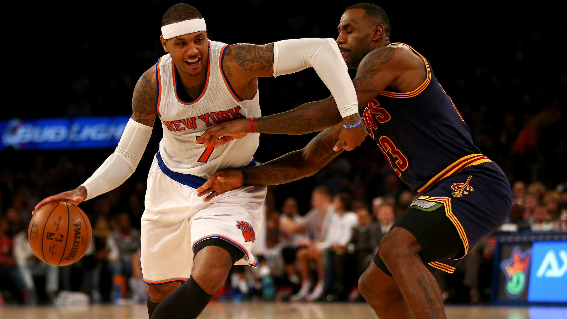 1920x1080 Cavaliers' LeBron James 'drama' is comical to Carmelo Anthony | NBA |  Sporting News