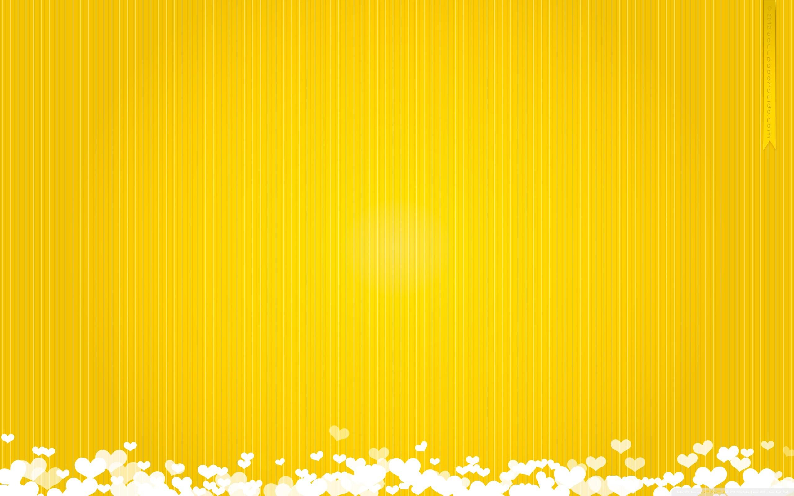 2560x1600 Yellow Wallpaper Abstract Hd
