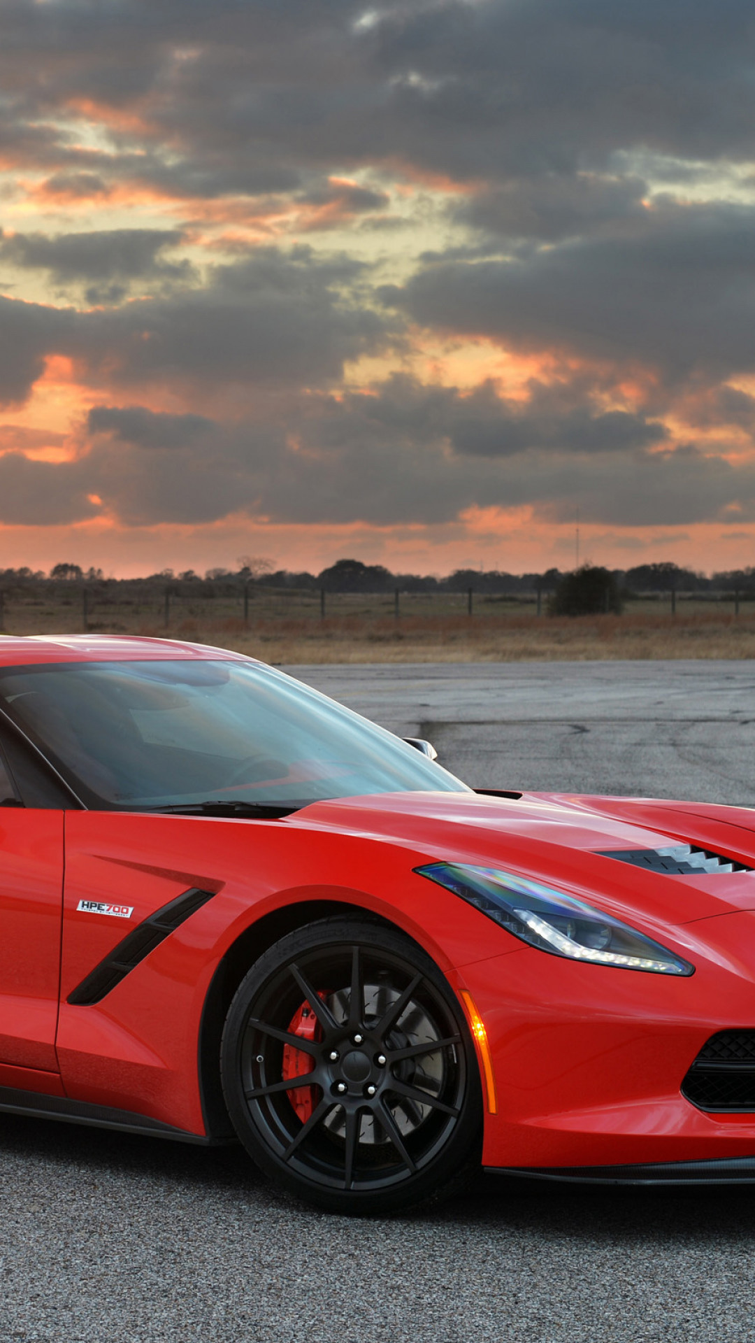 1080x1920  Wallpaper chevrolet, corvette, stingray, twin turbo, c7, 2014