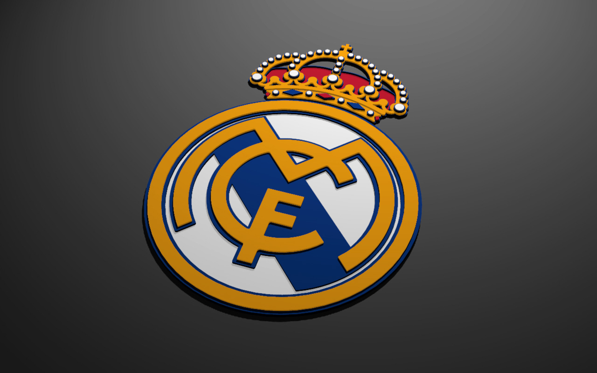 1920x1200 Real Madrid logo wallpaper HD.