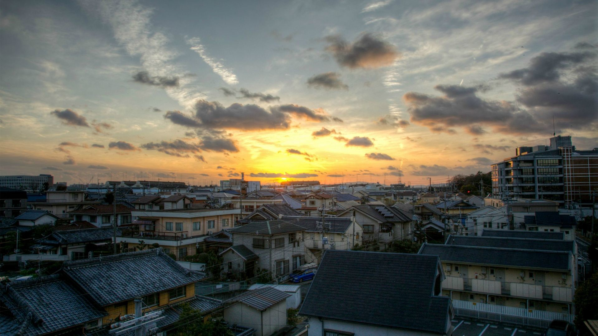 1920x1080 Hirakata city, Osaka, Japan [] [Photo by ThePharaxMan] ...