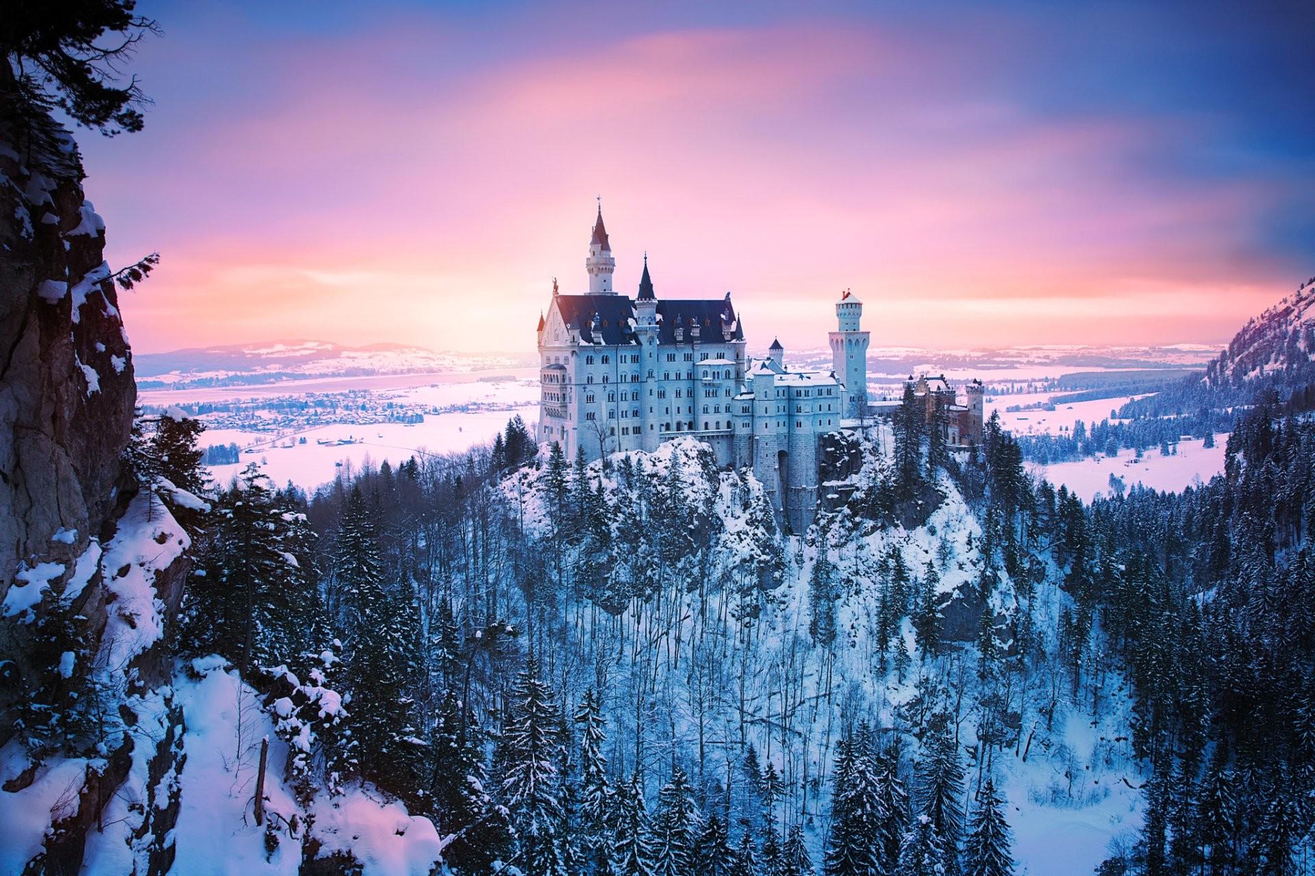 Winter Castle Wallpaper (66+ images)