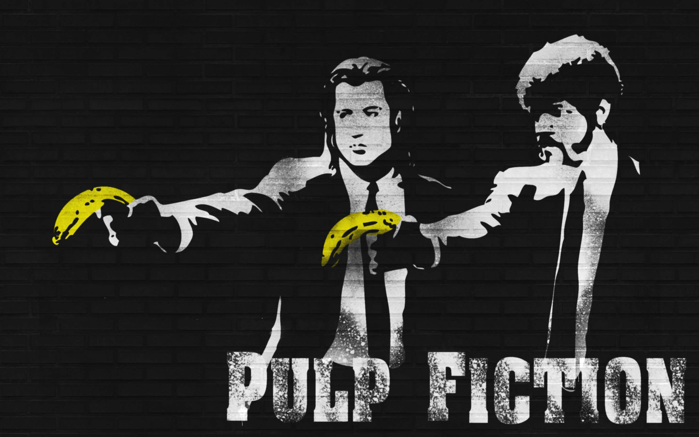 2880x1800 ... pulp fiction bananas wallpapers hd desktop and mobile backgrounds ...