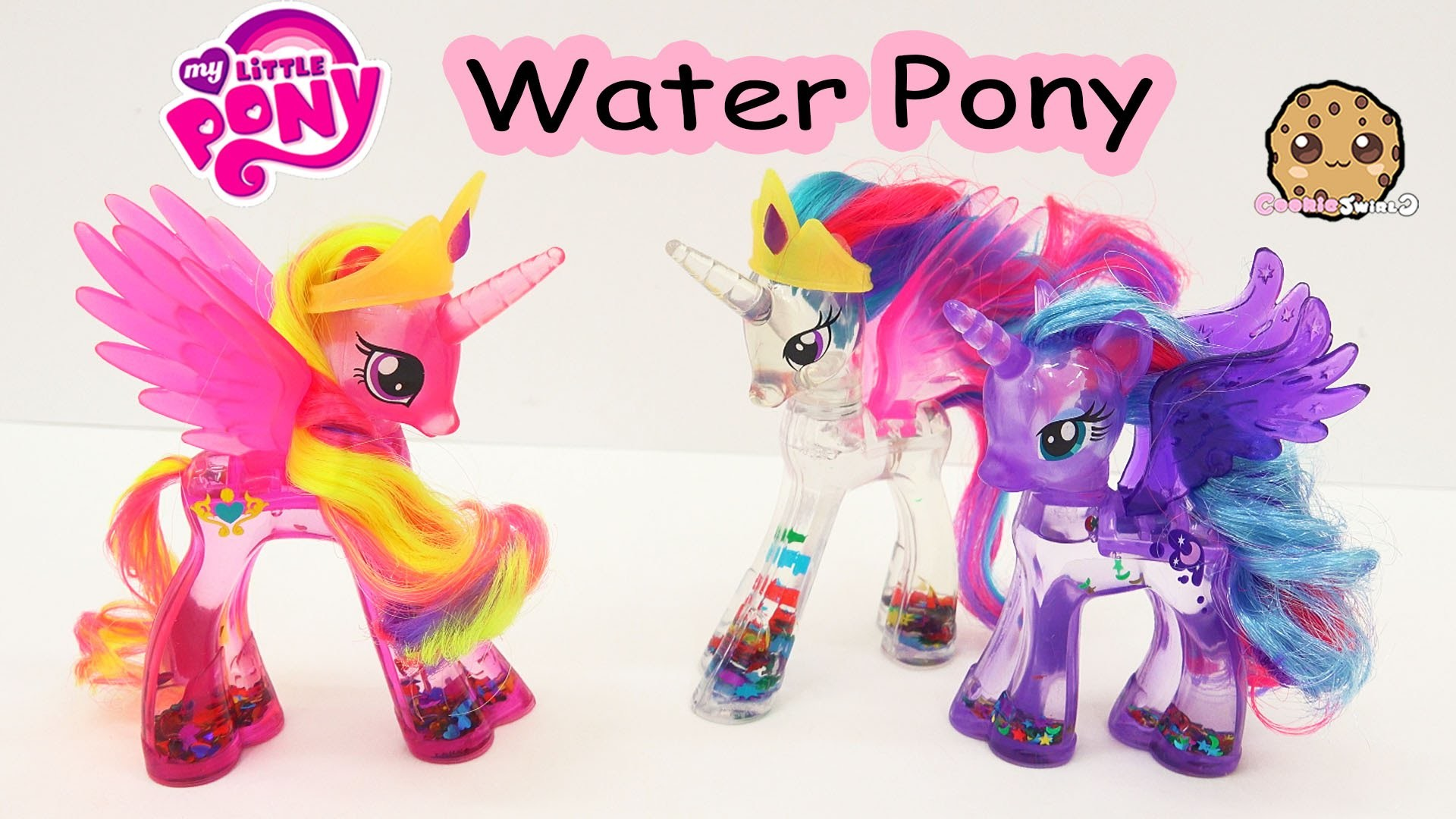 1920x1080 MLP Water Cuties Glitter Princess Cadance Rainbow Shimmer My Little Pony  Toy Unboxing Video - YouTube