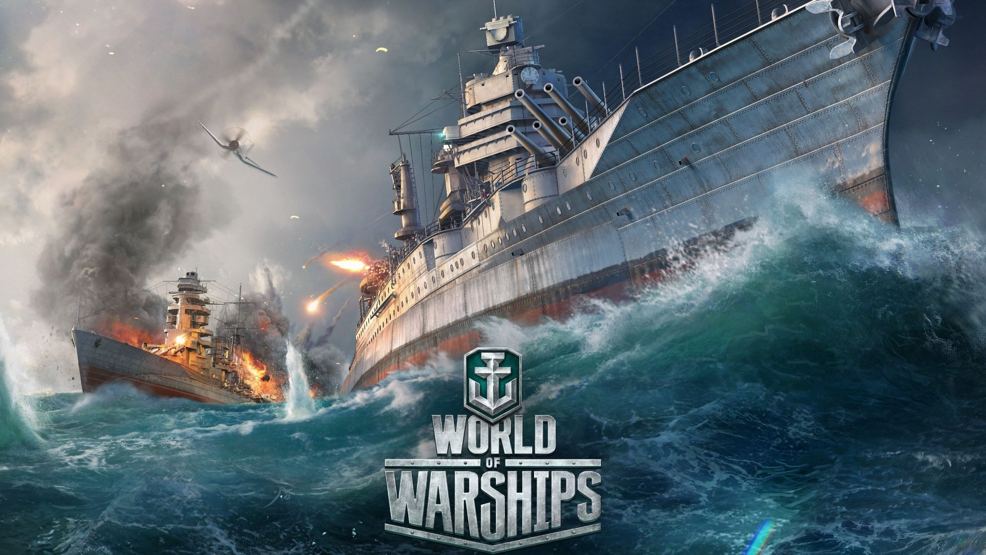1920x1080 Preview Wallpaper World Of Warships Ship Explosion