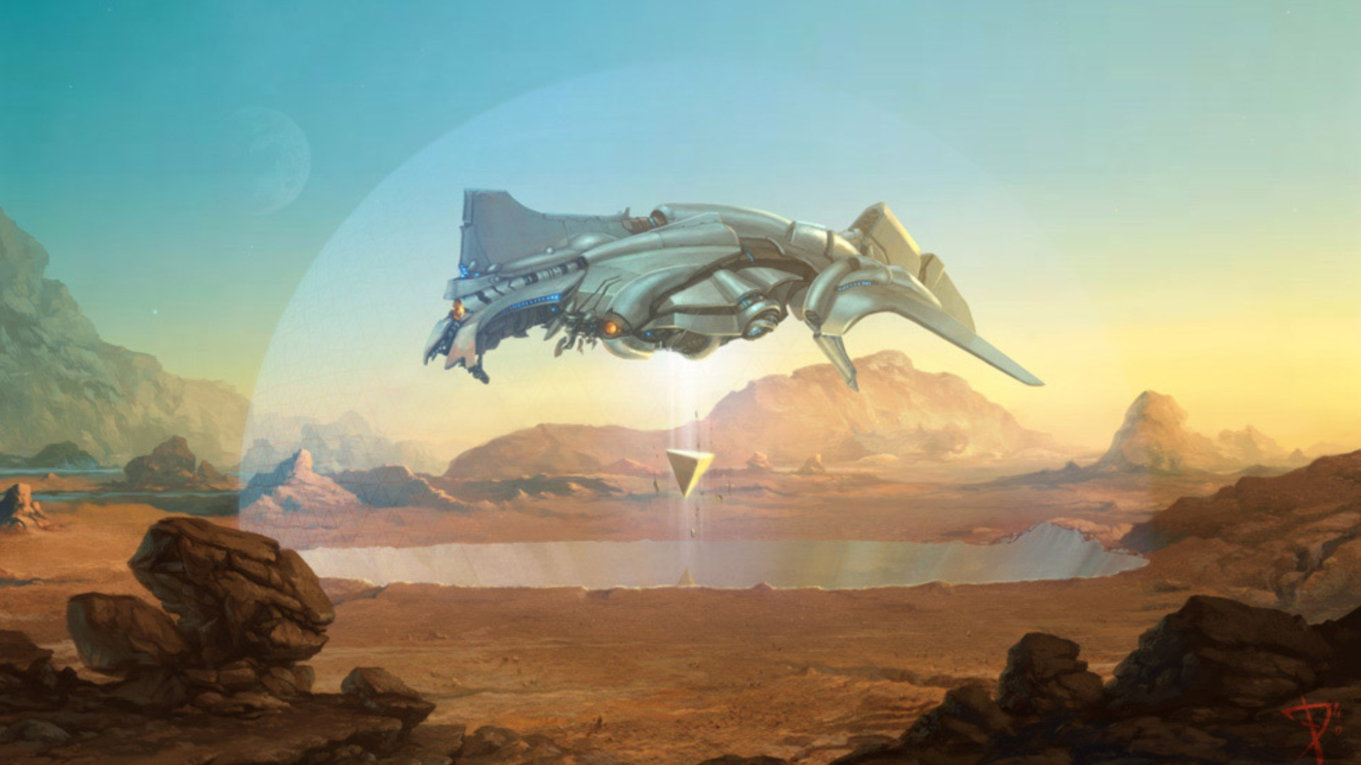 Stefan Morrell Sci-Fi Concept Art | Stefan Morrell Science ... |Science Fiction Graphics