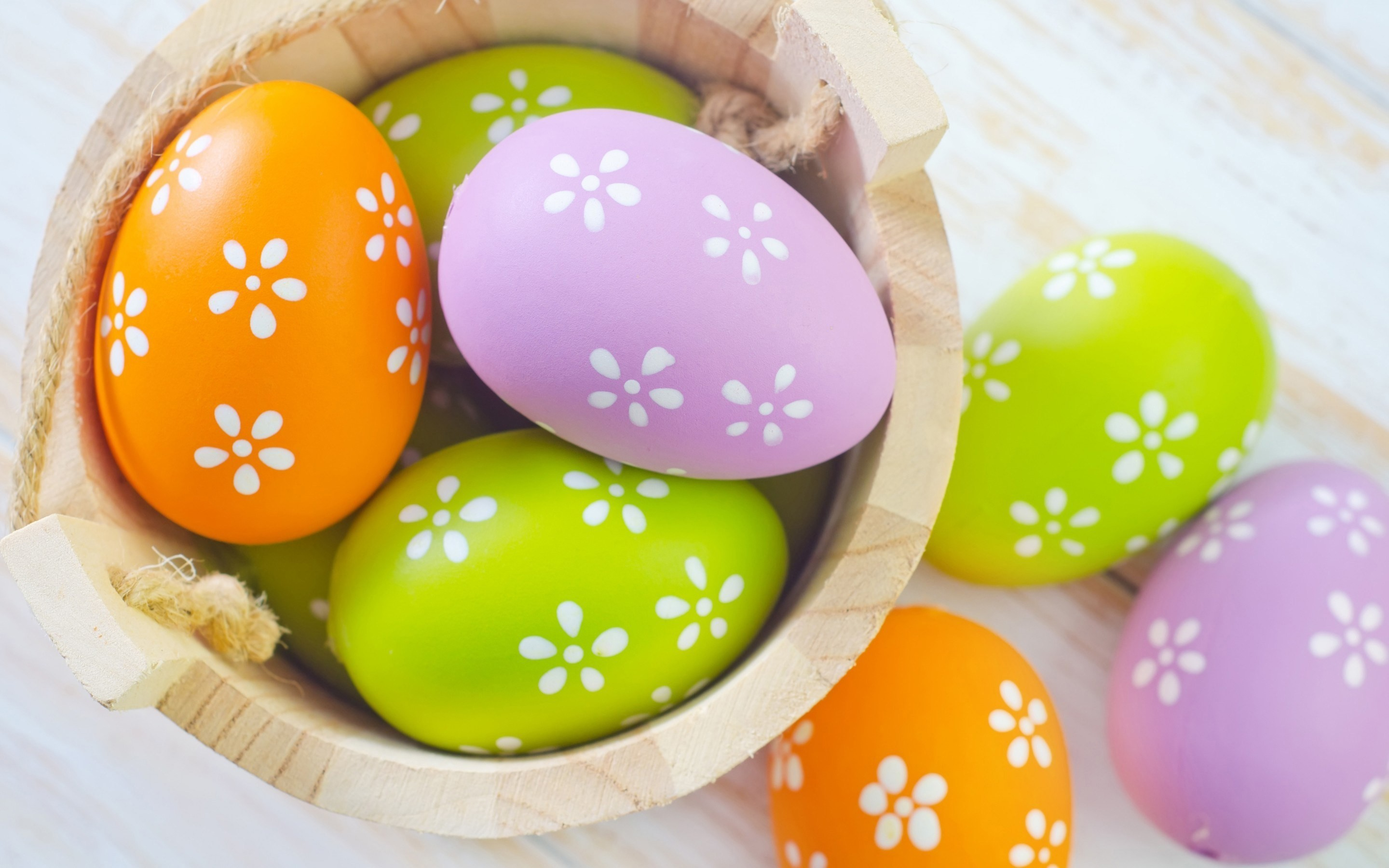 2880x1800 Beautiful Easter Eggs Wallpaper 4 - 2880 X 1800