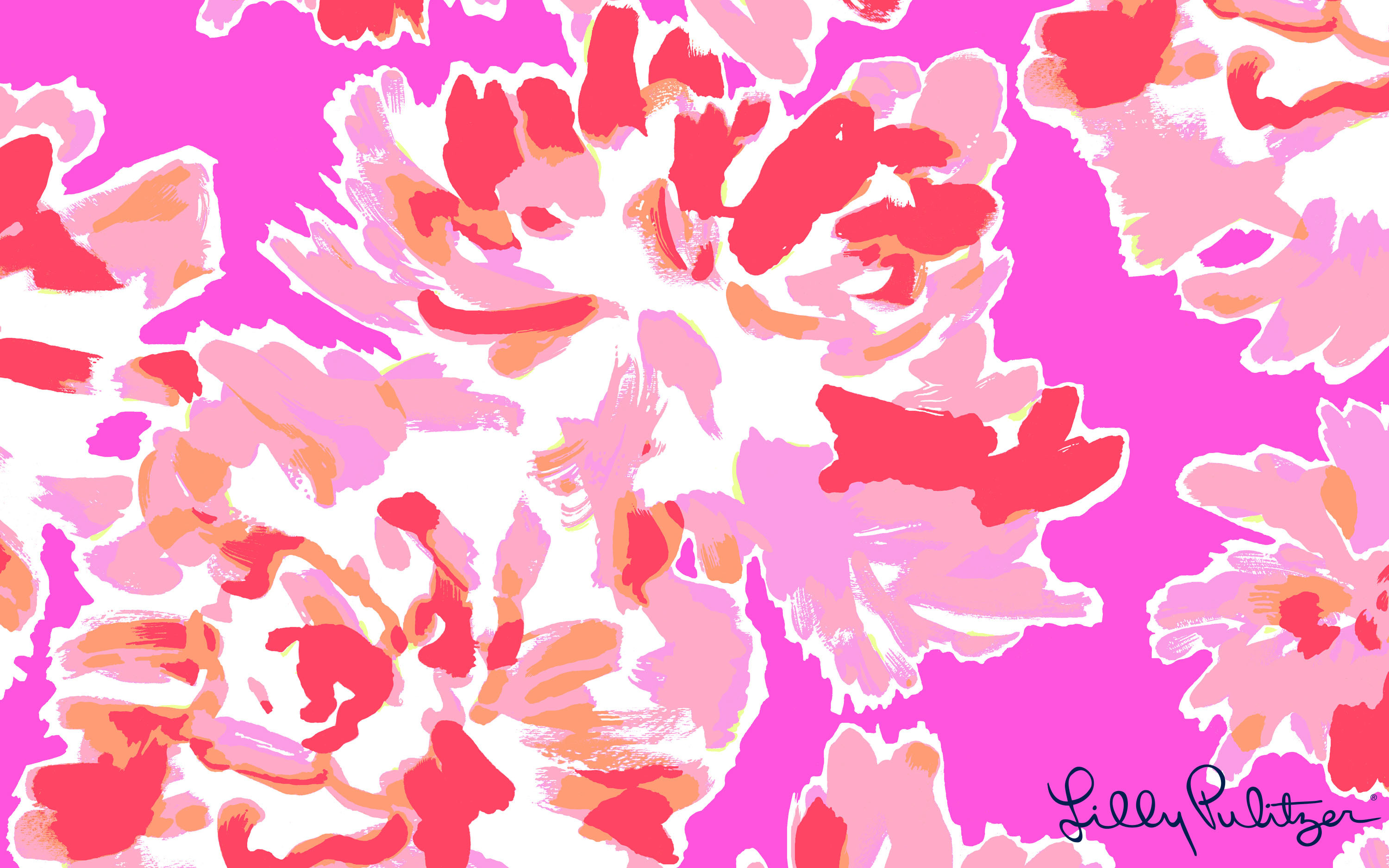 3000x1876 Monogram Lilly Pulitzer Desktop Wallpaper