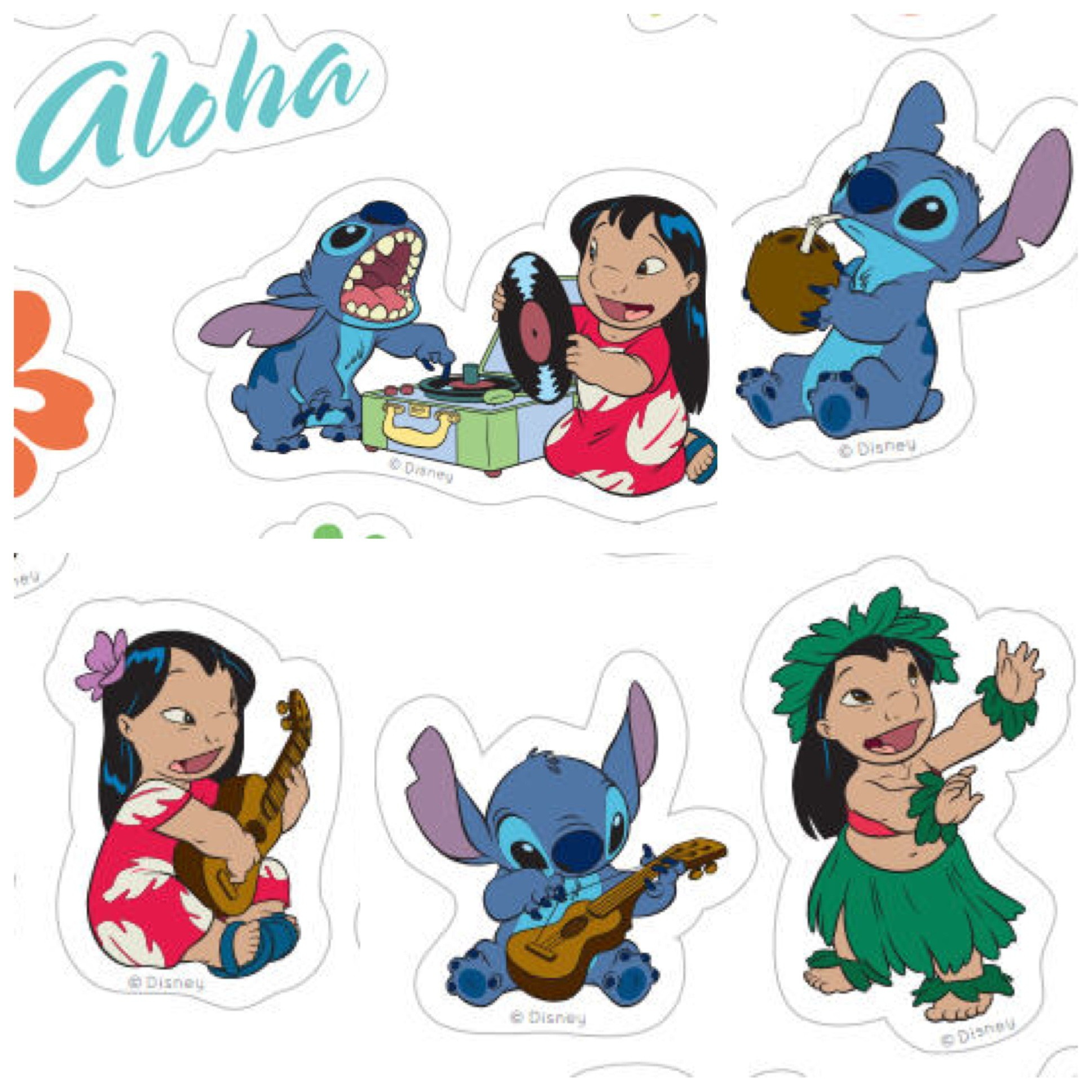 1936x1936 Print and share these adorable Lilo & Stitch stickers from home.