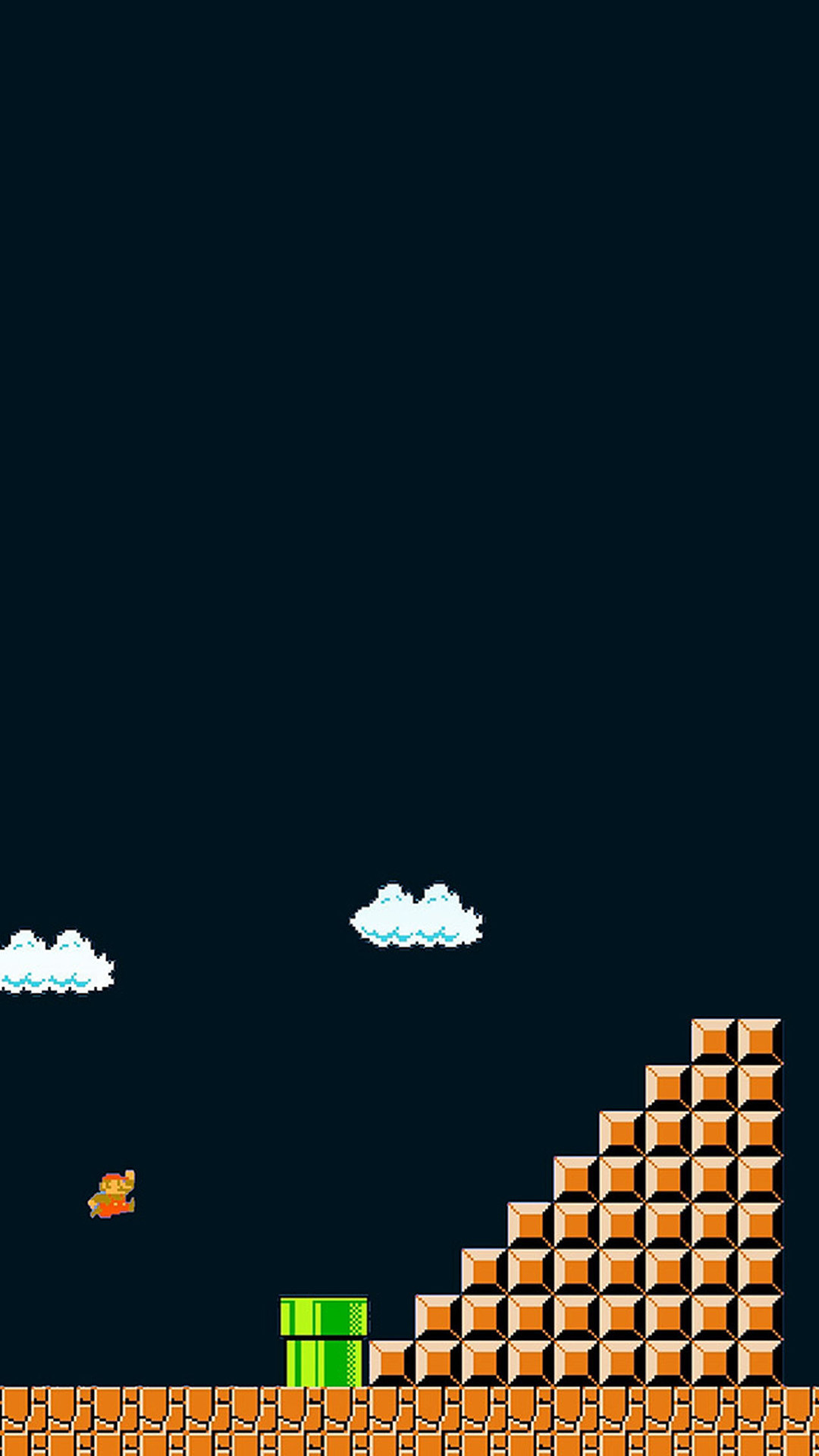 1080x1920 iPhone 6 plus Super Mario Nintendo HD Wallpaper