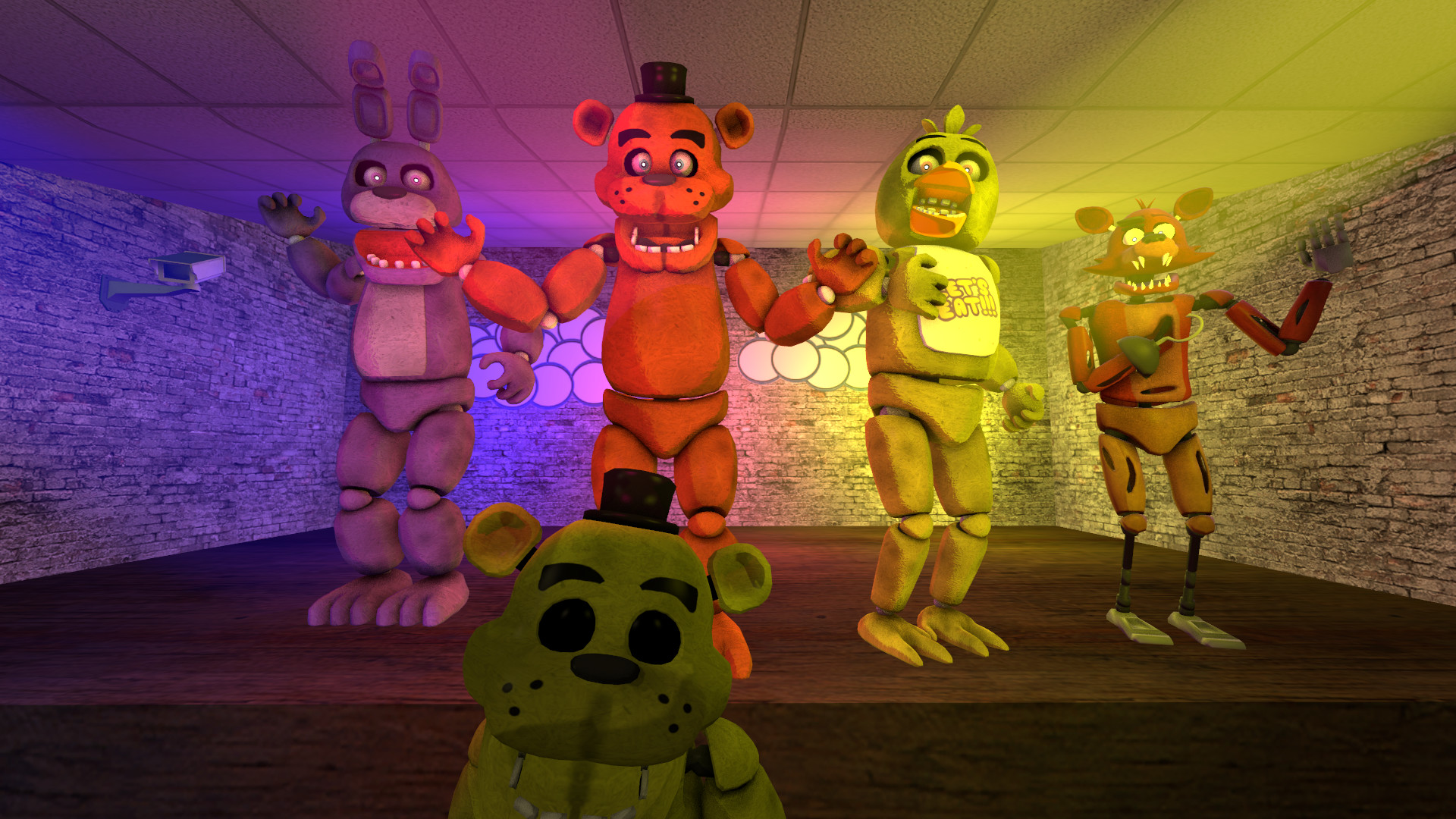 1920x1080 ... Five nights at Freddy's by Elsa-Shadow