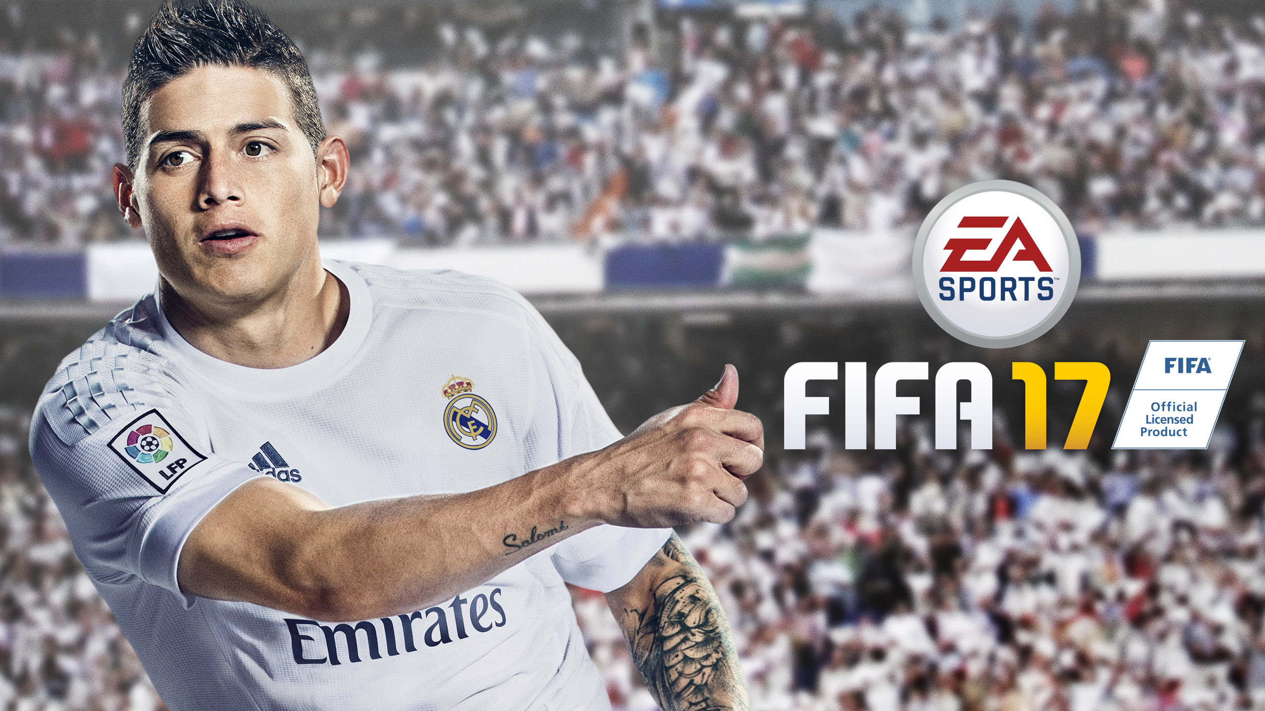 2560x1440 James Rodriguez FIFA 17 EA Sports Football Game HD