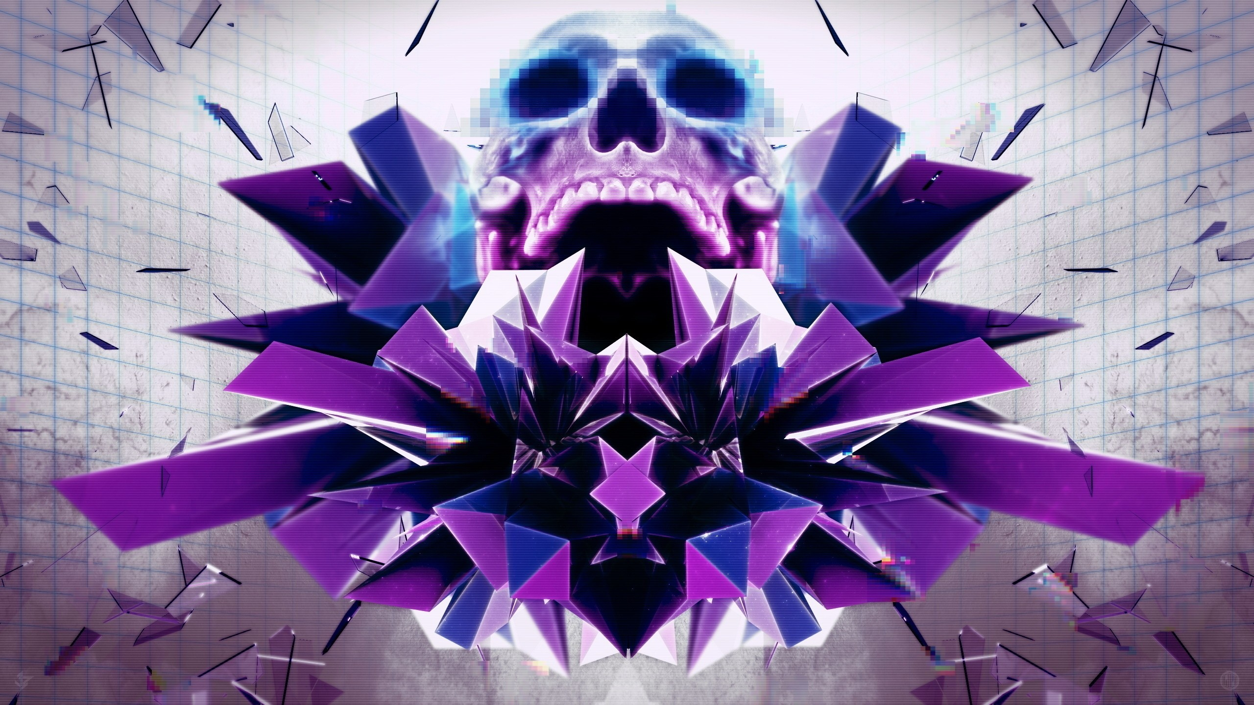 Abstract Skull Wallpaper (73+ Images