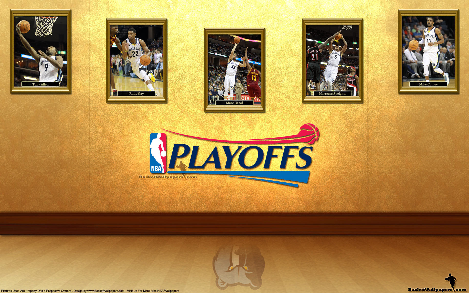 1920x1200 Memphis Grizzlies See You In Playoffs 2012 Wallpaper