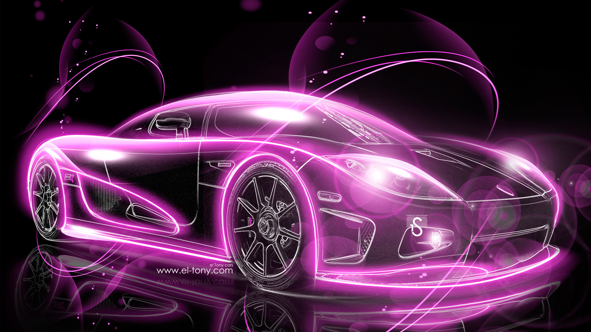 1920x1080 Great Pink Car Picture
