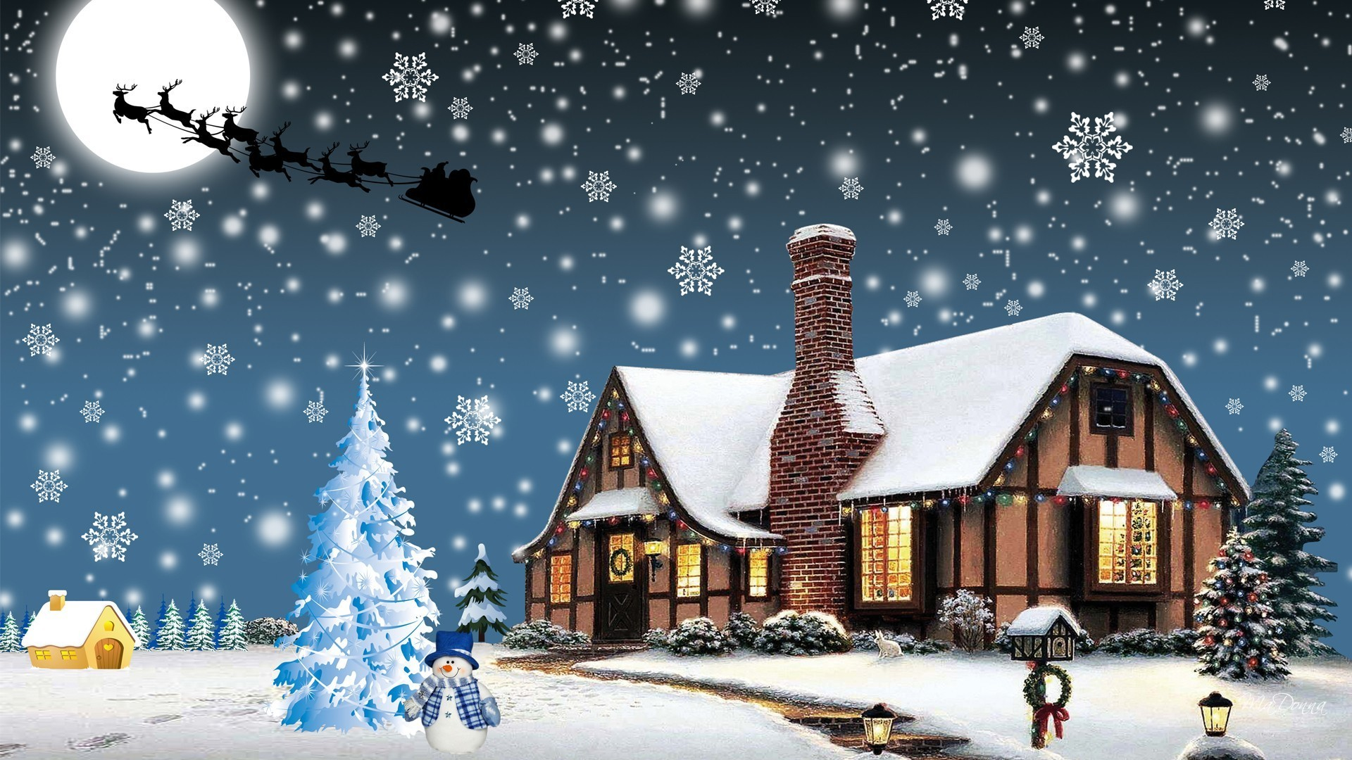 Christmas HD Widescreen Wallpaper 1920x1080 (61+ Images