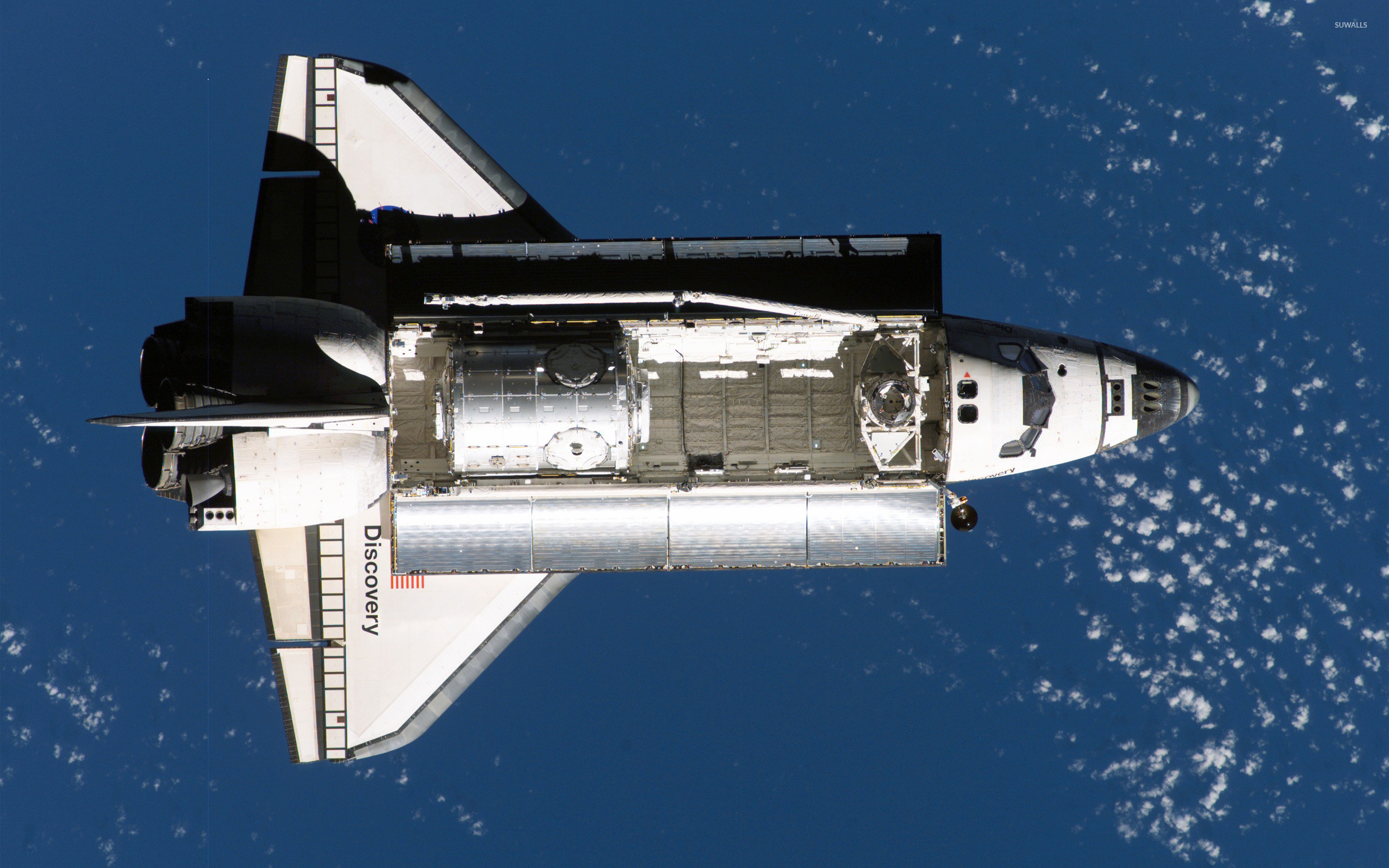 2560x1600 Space Shuttle Discovery wallpaper