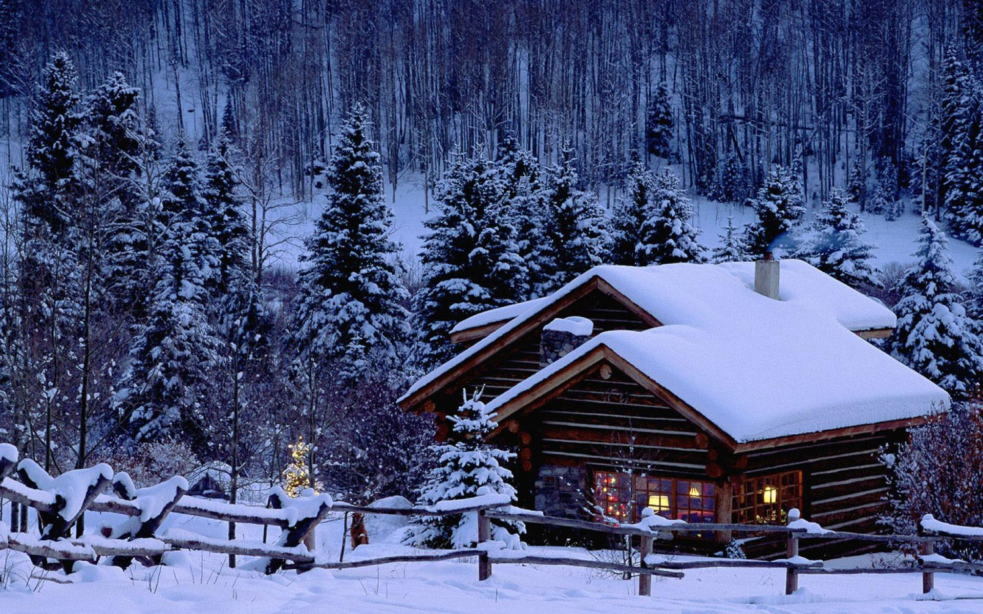 Christmas Scenes Images.Snowy Christmas Scenes Wallpaper 48 Images