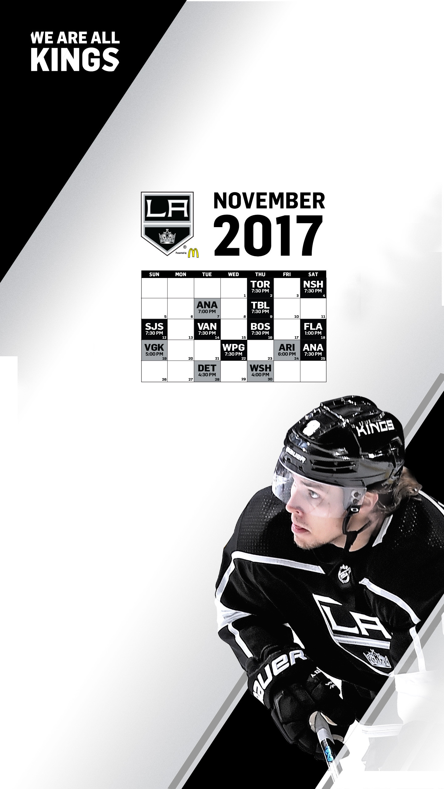 1440x2560 LA Kings Wallpaper