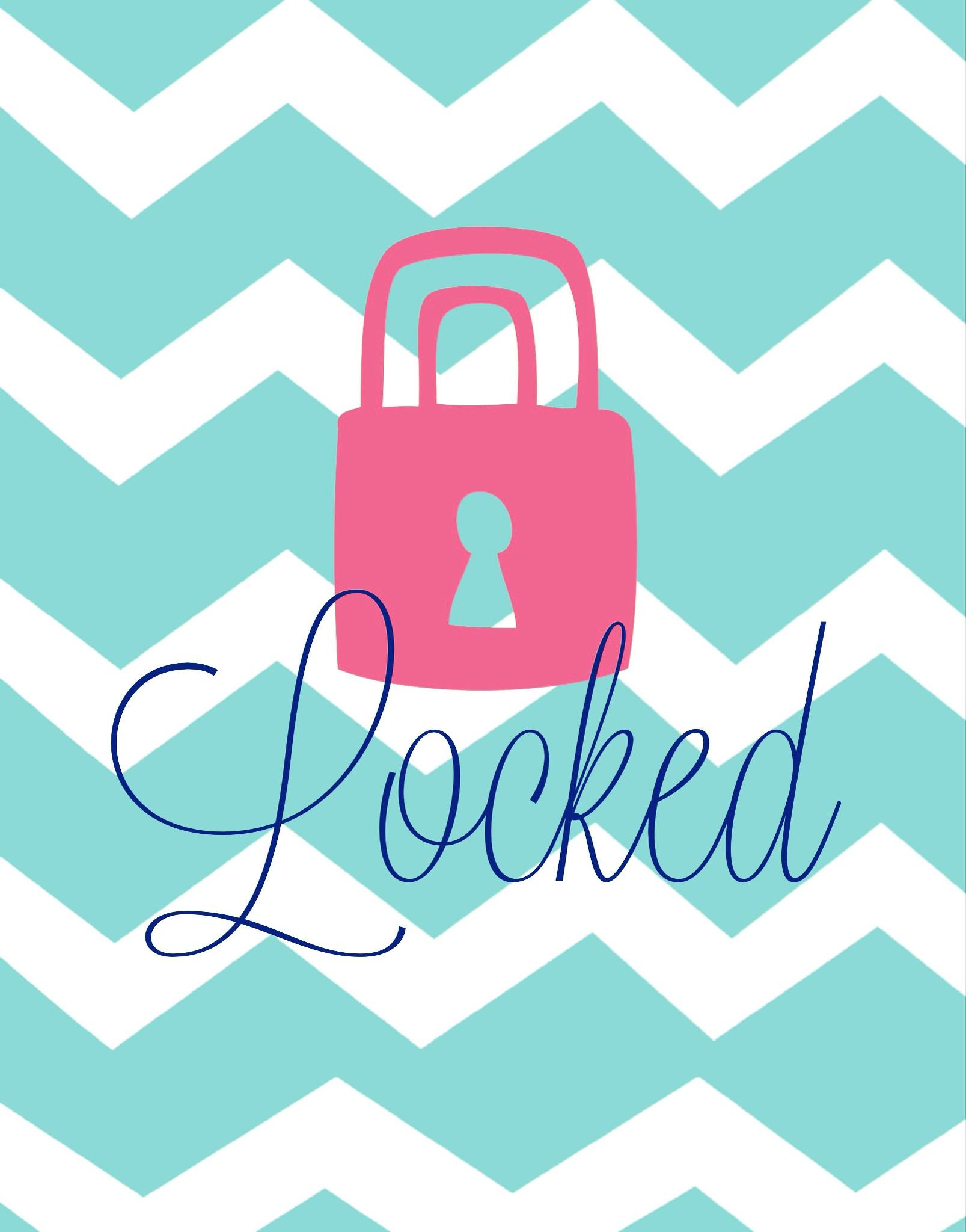 1607x2048 Chevron Lock Screen Girly Wallpapers