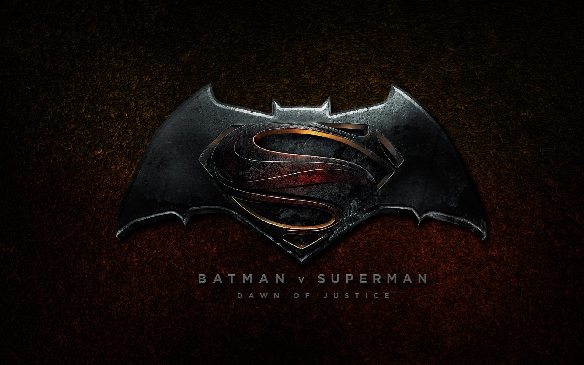 1920x1200 Batman vs Superman: Dawn of Justice 2016 Logo Wallpaper HD