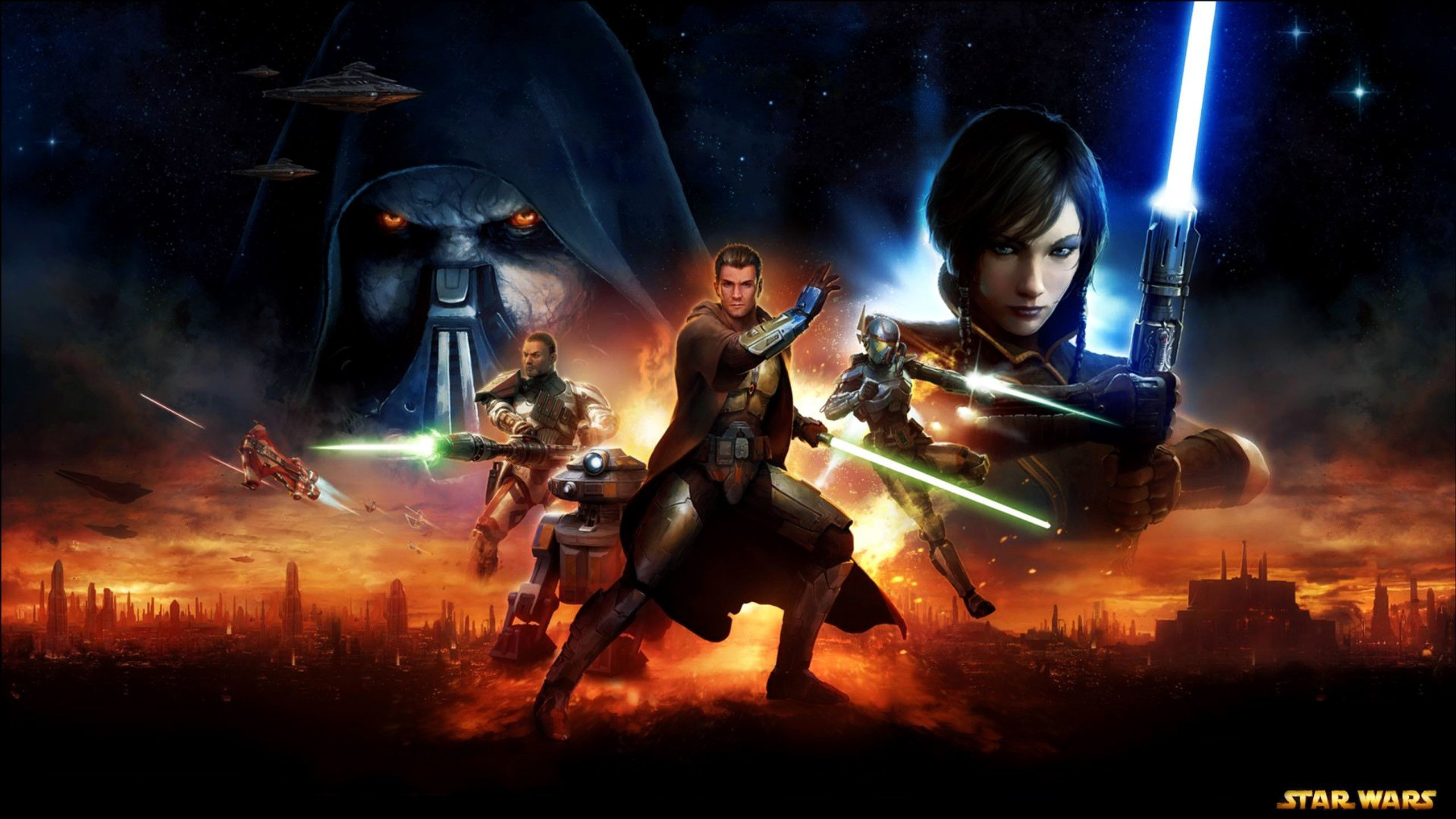 2560x1440 Star Wars: The Old Republic Wallpapers 1920x1080 - Wallpaper Cave