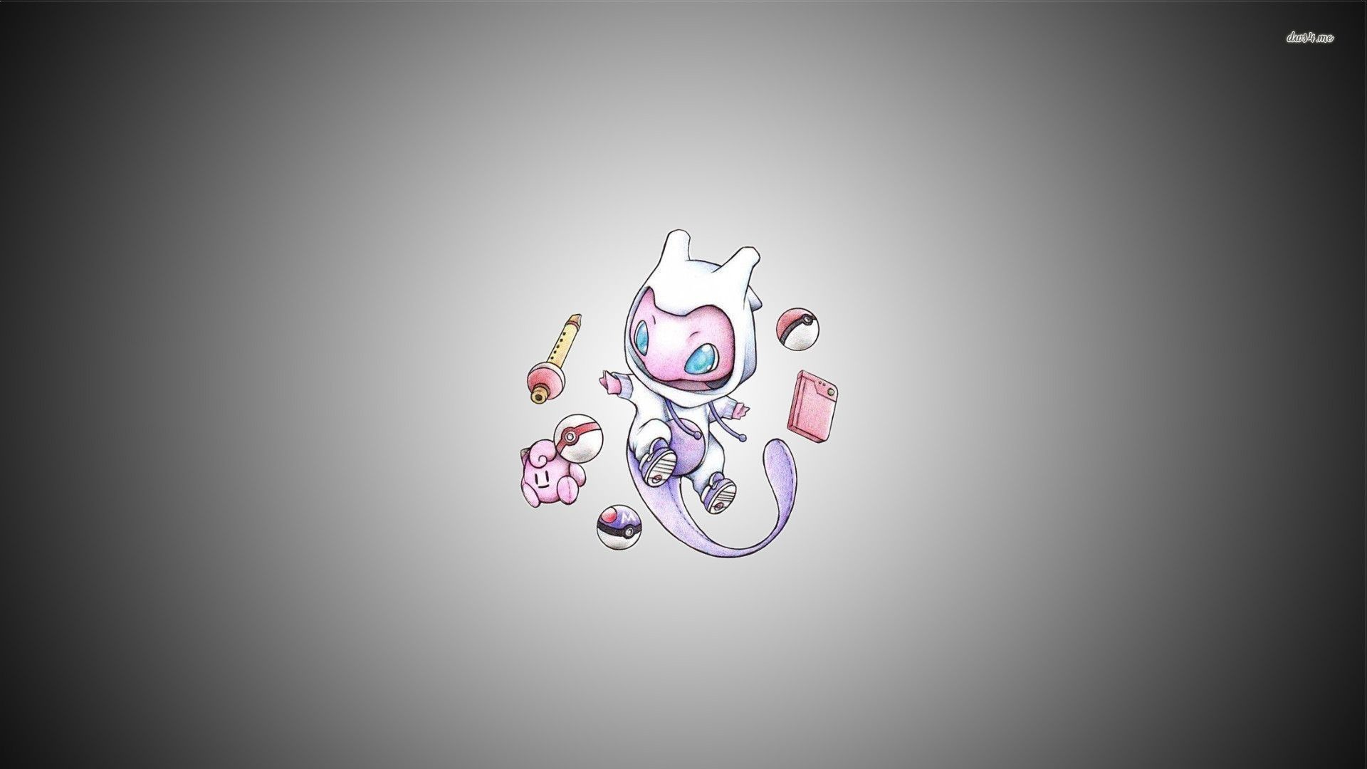 1920x1080  Cutest Mew's wallpaper ever!