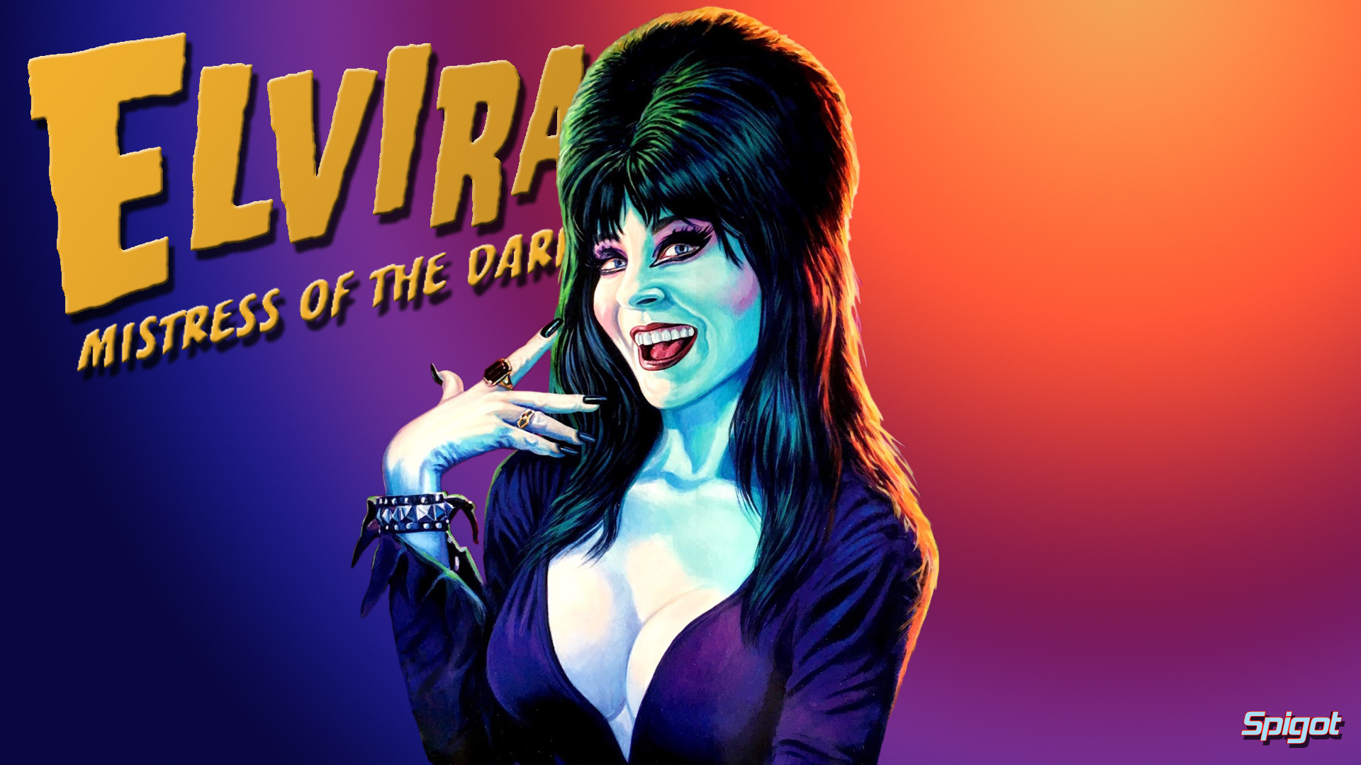 1920x1080 I've been so busy of late but couldn't let my favorite holiday (time of  year) go by with out some Elvira wallpapers.