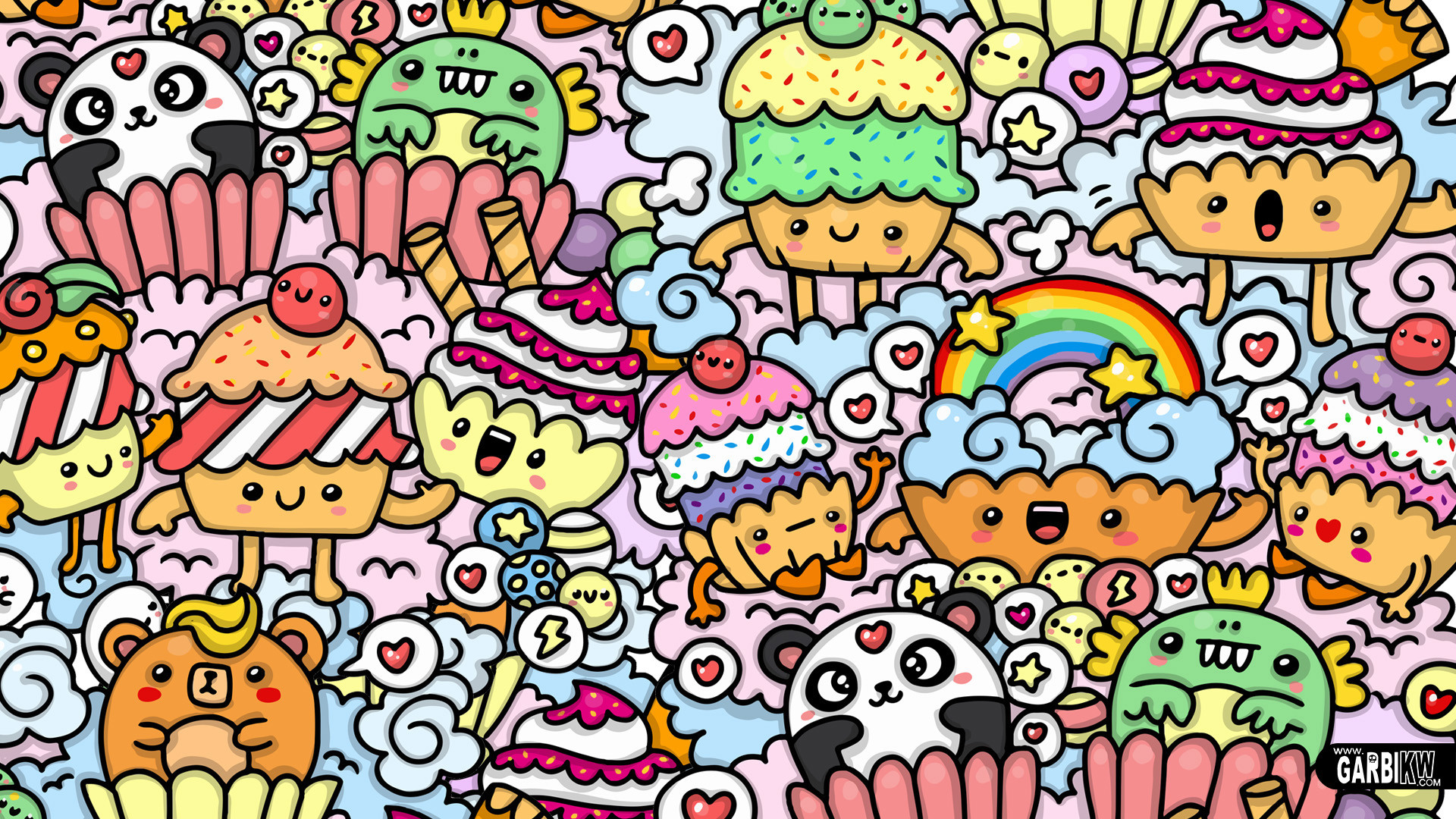 Doodle art wallpapers 52 images - Doodle desktop wallpaper ...