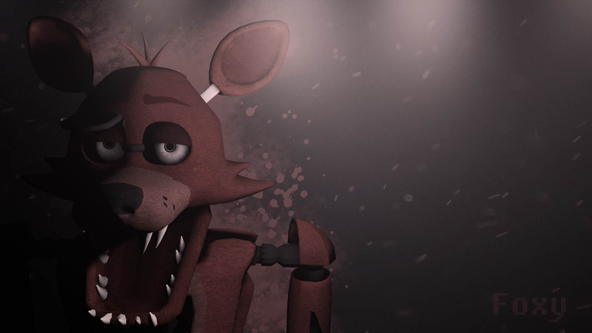 1920x1080 ... Five Nights at Freddy's Foxy Wallpaper DOWNLOAD by NiksonYT
