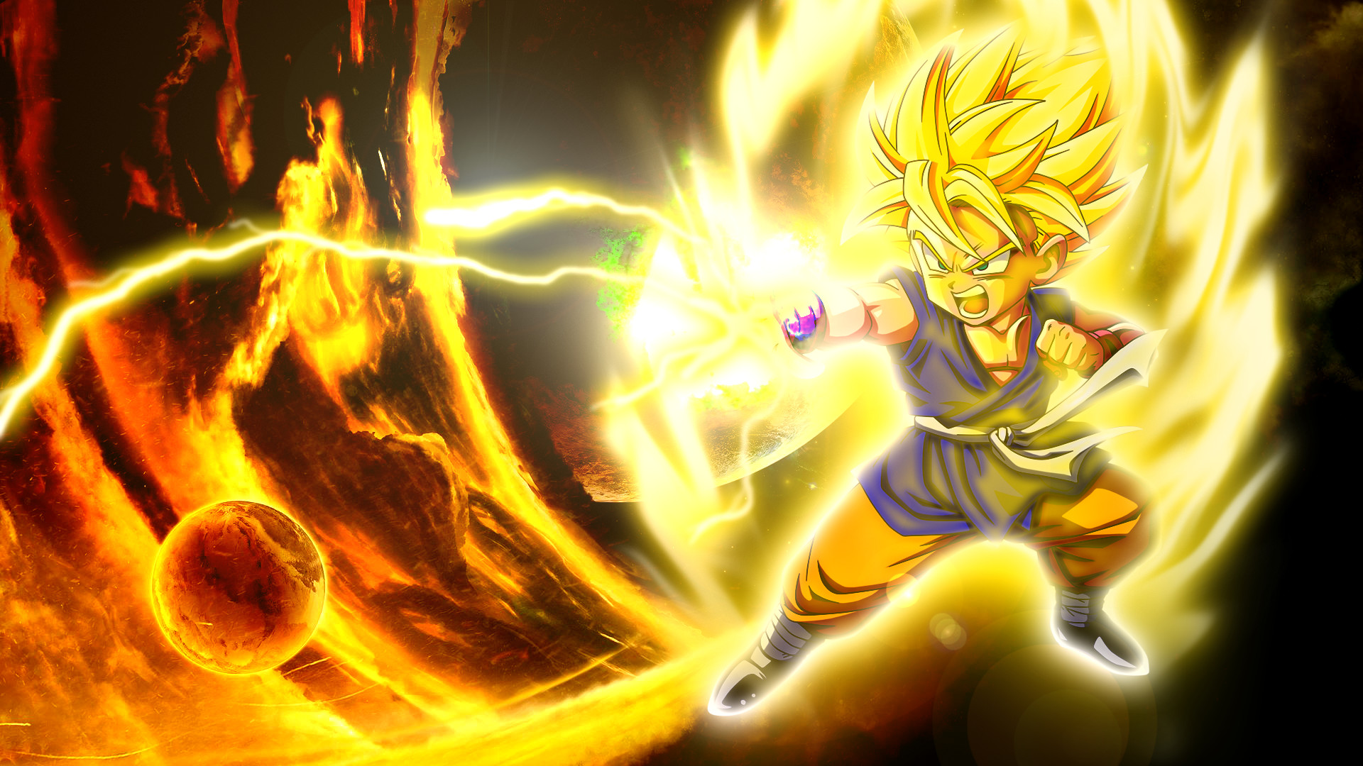 Goku wallpapers hd 65 images - Dragon ball gt goku wallpaper ...