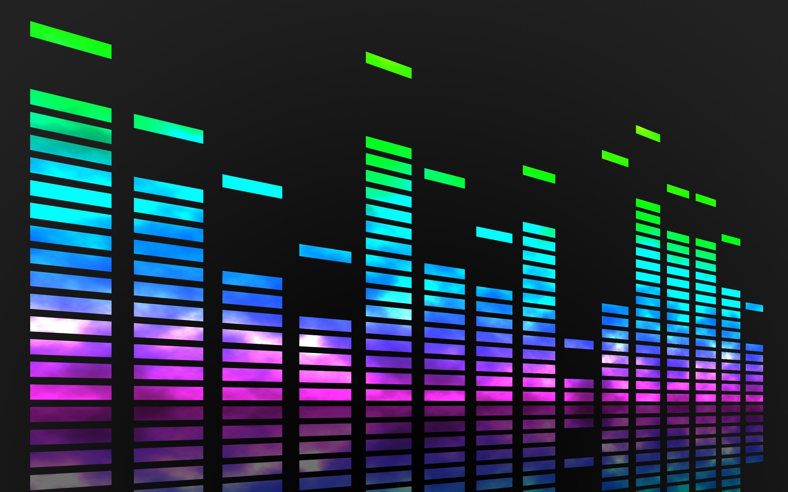 2560x1600 Equalizer music wallpaper hd resolution music bars wallpapers