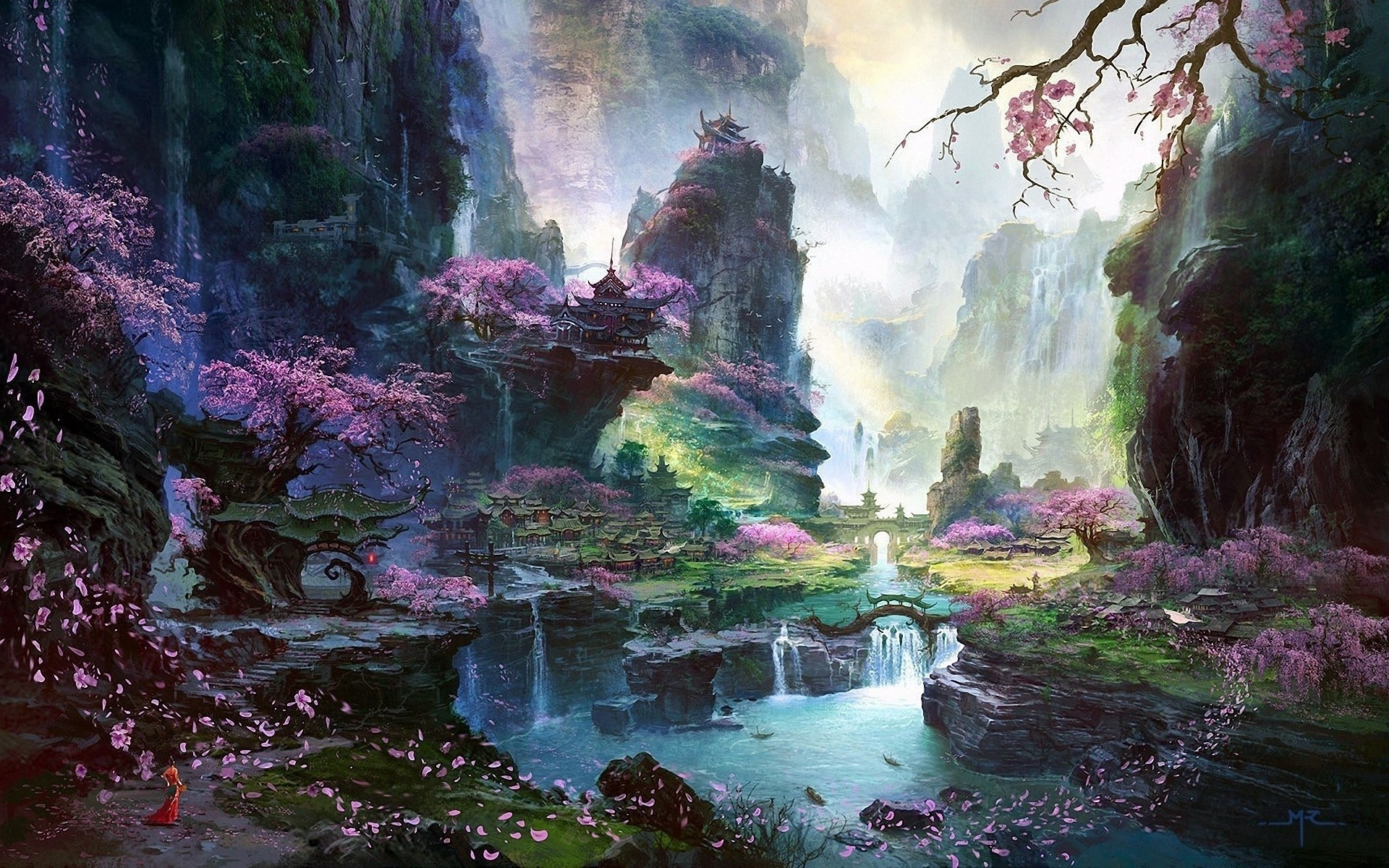 Stunning Hd Fantasy Wallpapers: Chinese Scenery Wallpaper (66+ Images