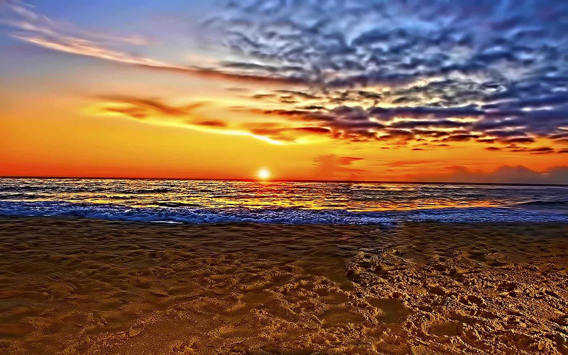 Beach Wallpaper: Beautiful Beach Sunset Wallpaper (61+ Images