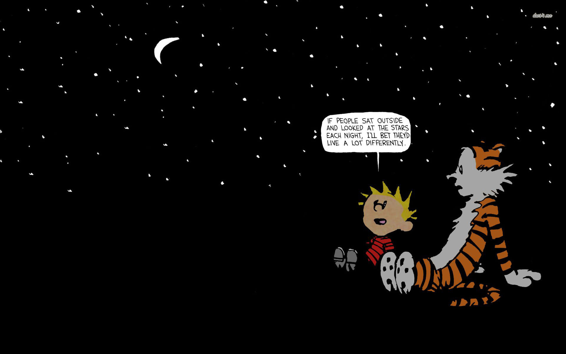 Calvin and Hobbes Space Wallpaper (76+ images)
