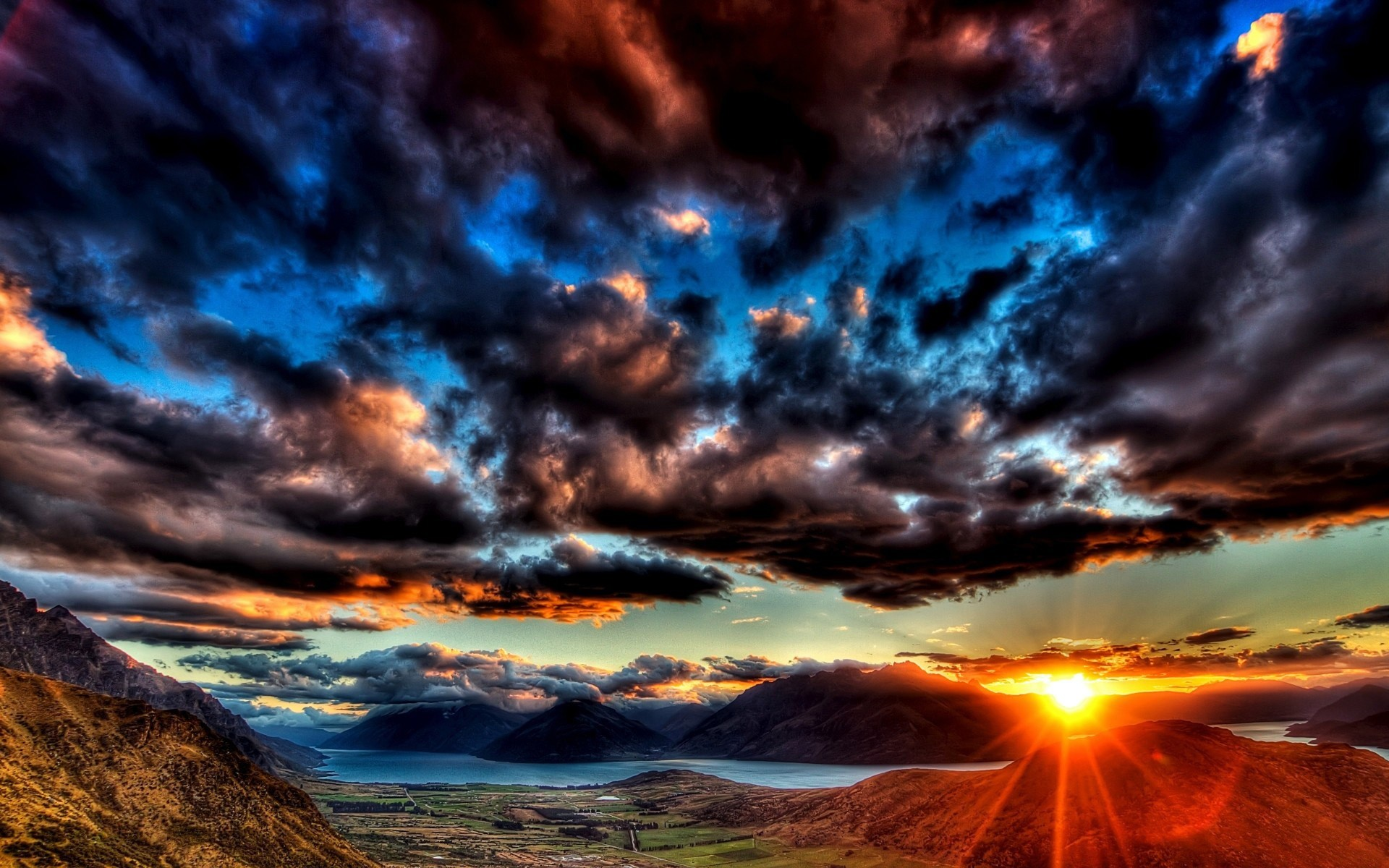 1920x1200 dark sunset hd | Sunset Dark Clouds Wallpapers Pictures Photos Images