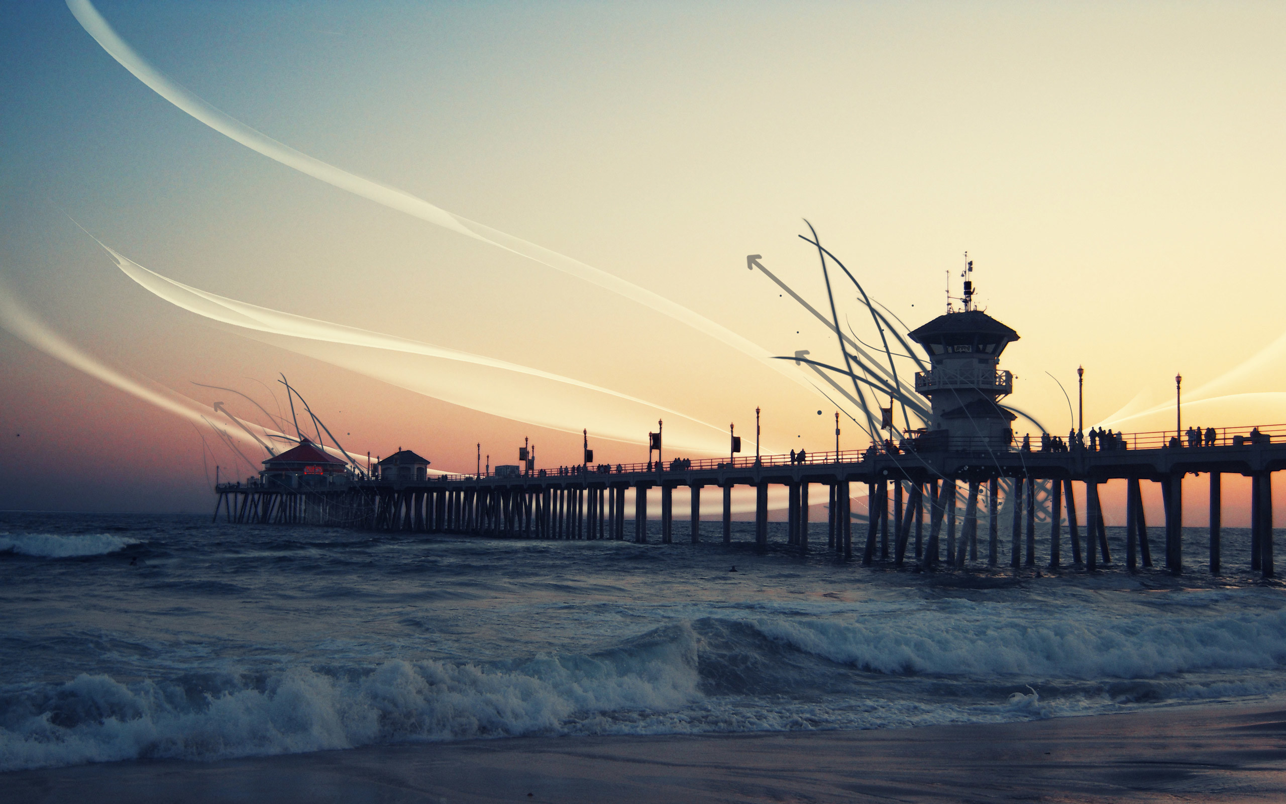 2560x1600 HD California Wallpaper