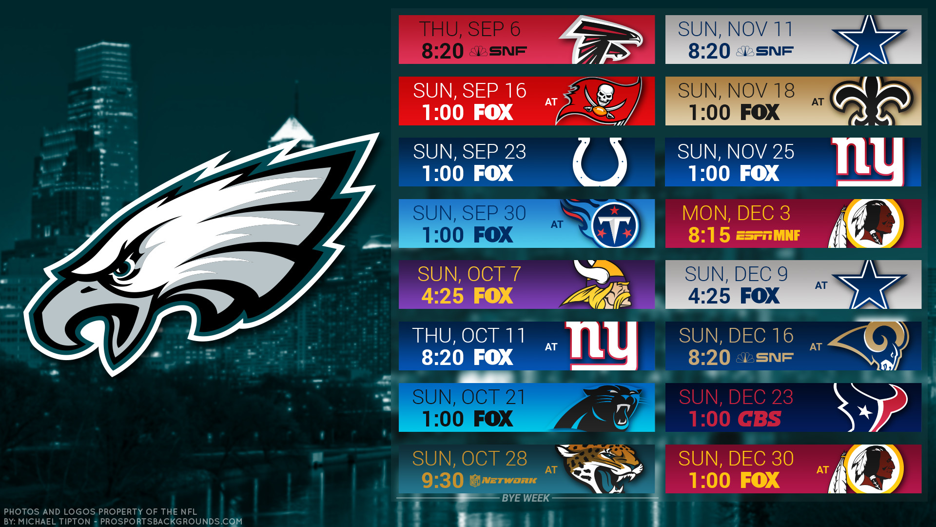 1920x1080 Philadelphia Eagles 2018 schedule city football logo wallpaper free pc  desktop computer
