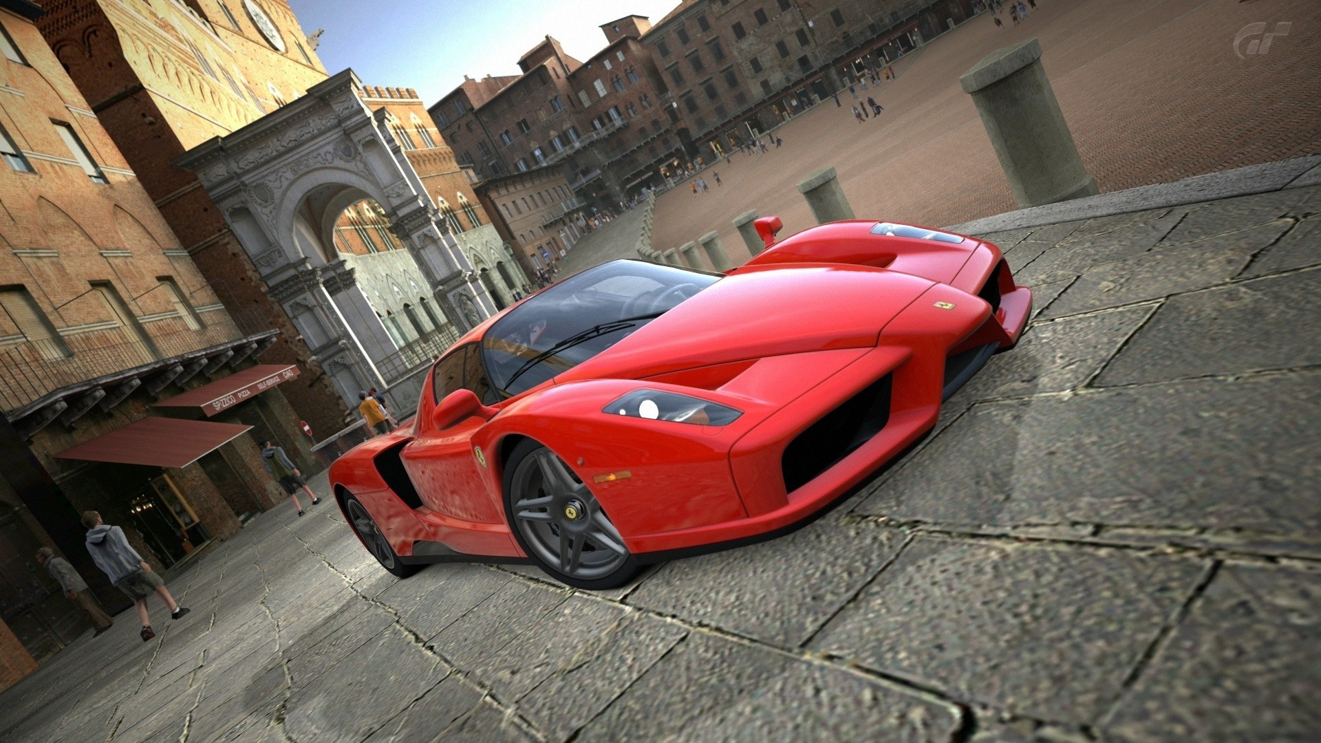 1920x1080 Ferrari Enzo Sports Car HD Wallpaper